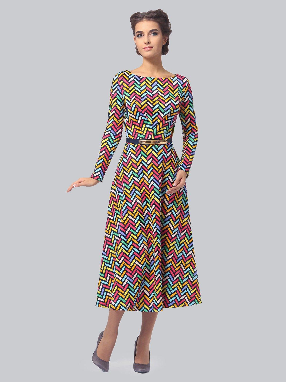 Платье в принт   3840402   фото 2