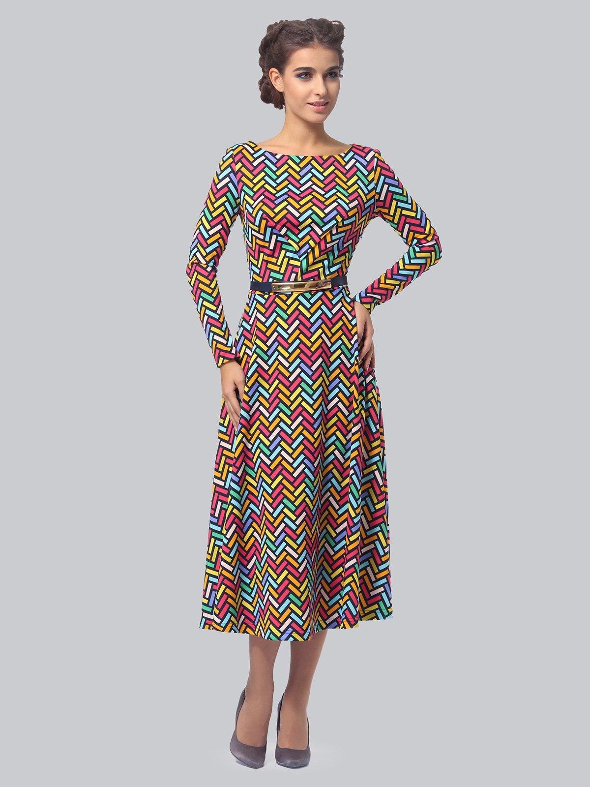 Платье в принт   3840402   фото 3