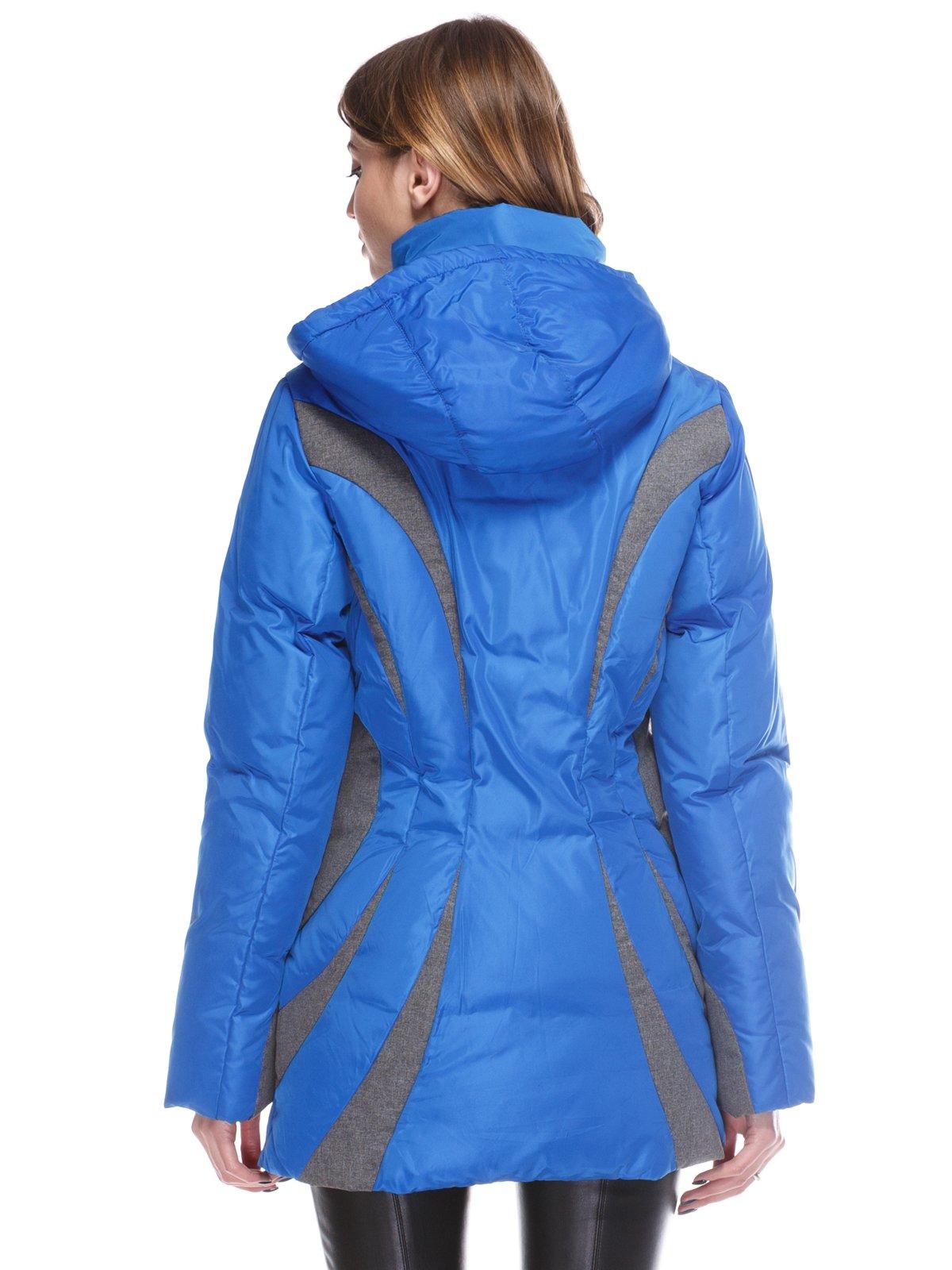 Пальто синее | 3845058 | фото 2