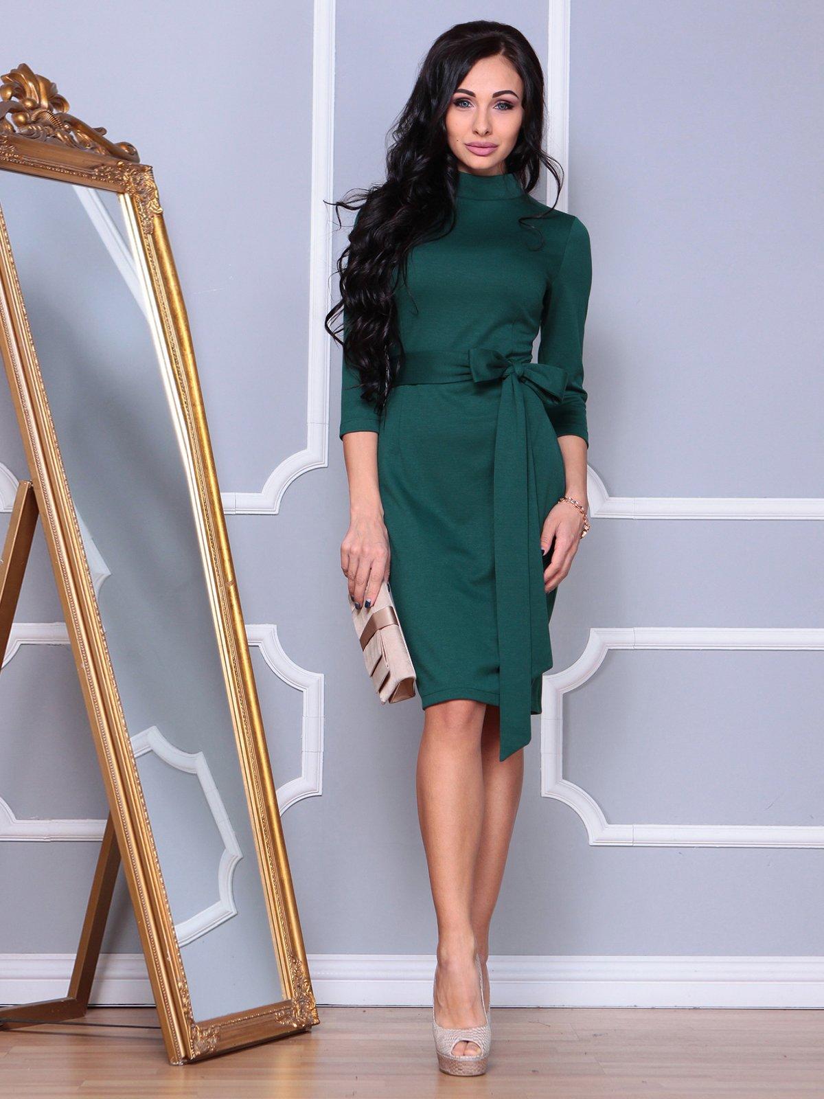Сукня смарагдового кольору | 3853787