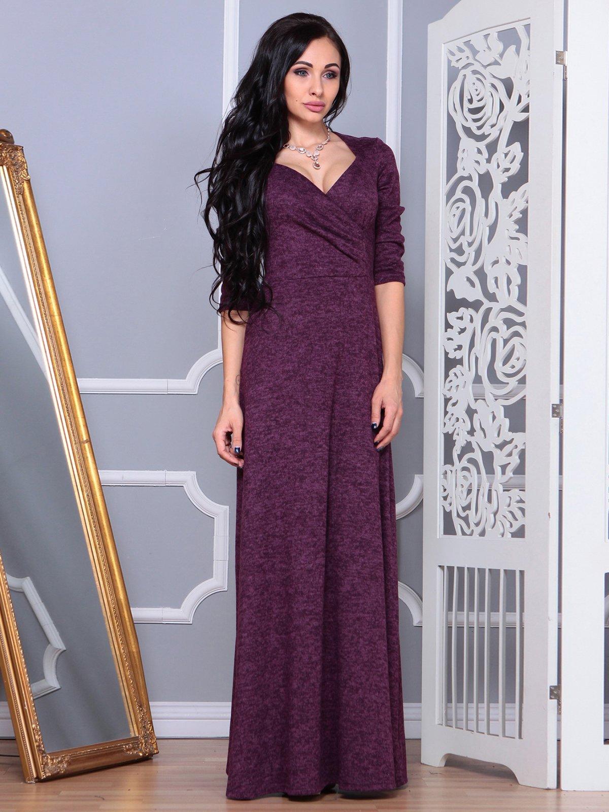 Платье фиолетовое | 3853839