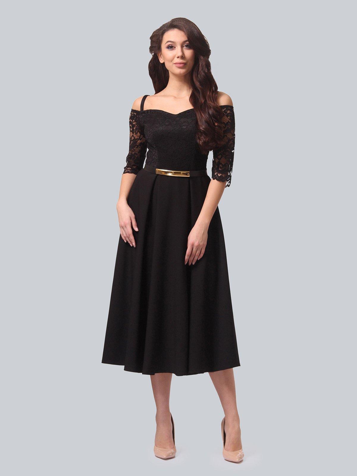 Платье черное | 3851903