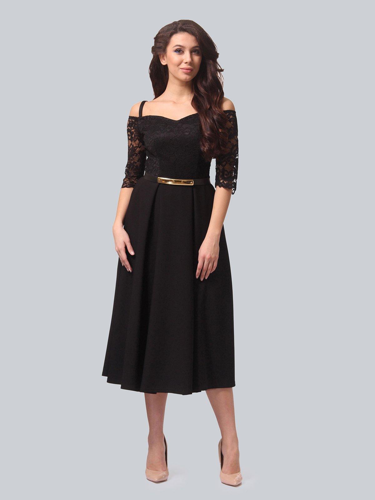 Платье черное | 3851903 | фото 2