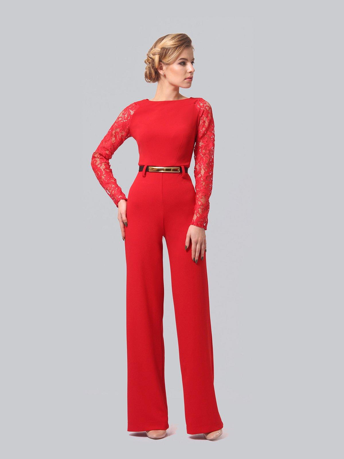 Комбинезон красный | 3851939