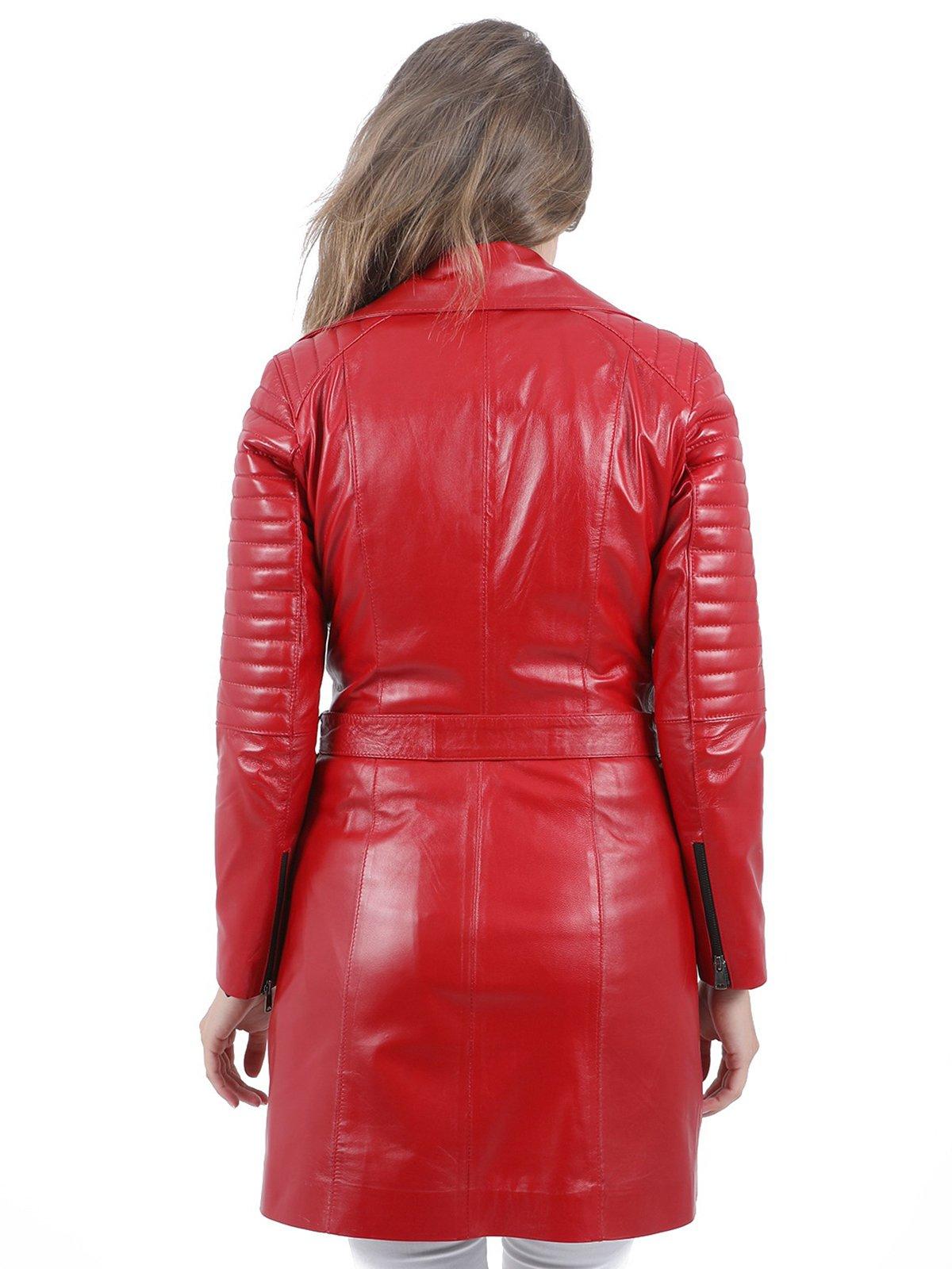 Куртка красная | 3856100 | фото 3