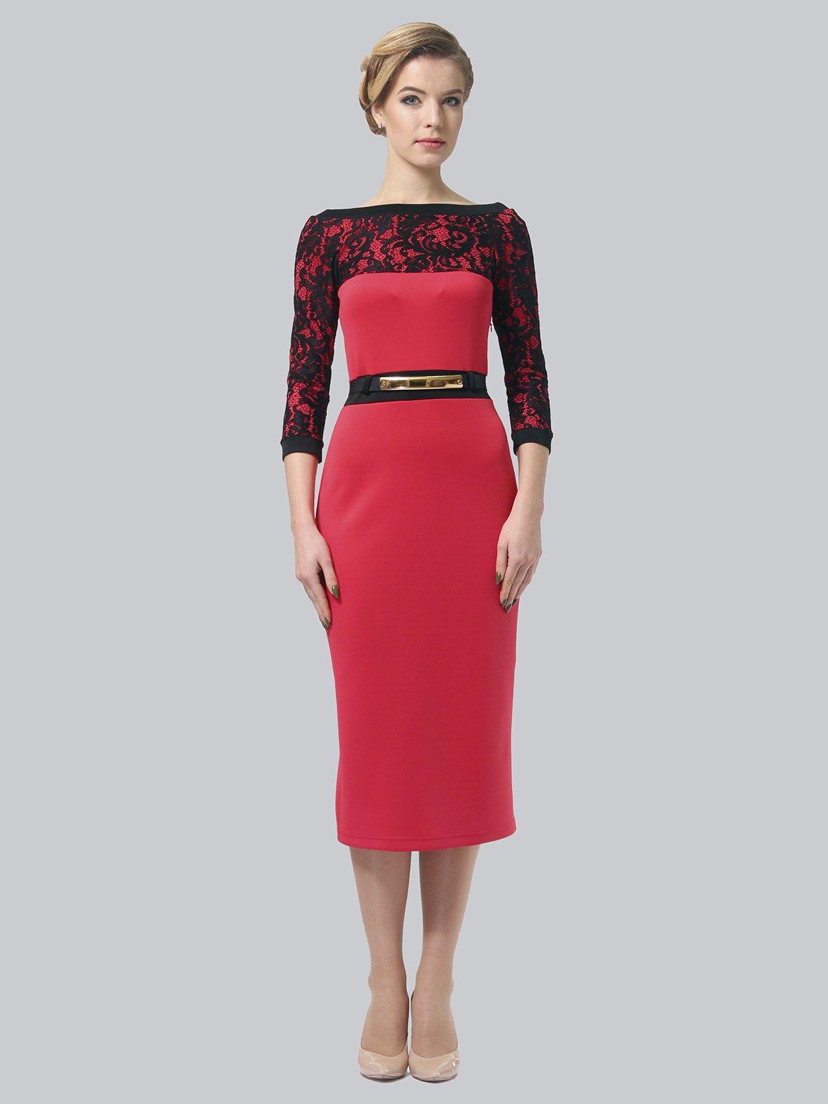 Платье коралловое   3851933   фото 2