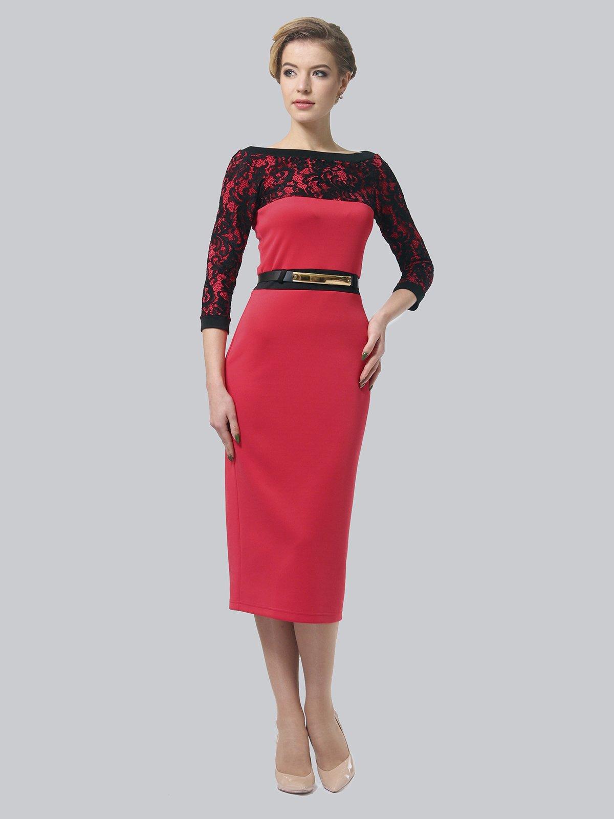 Платье коралловое   3851933   фото 3