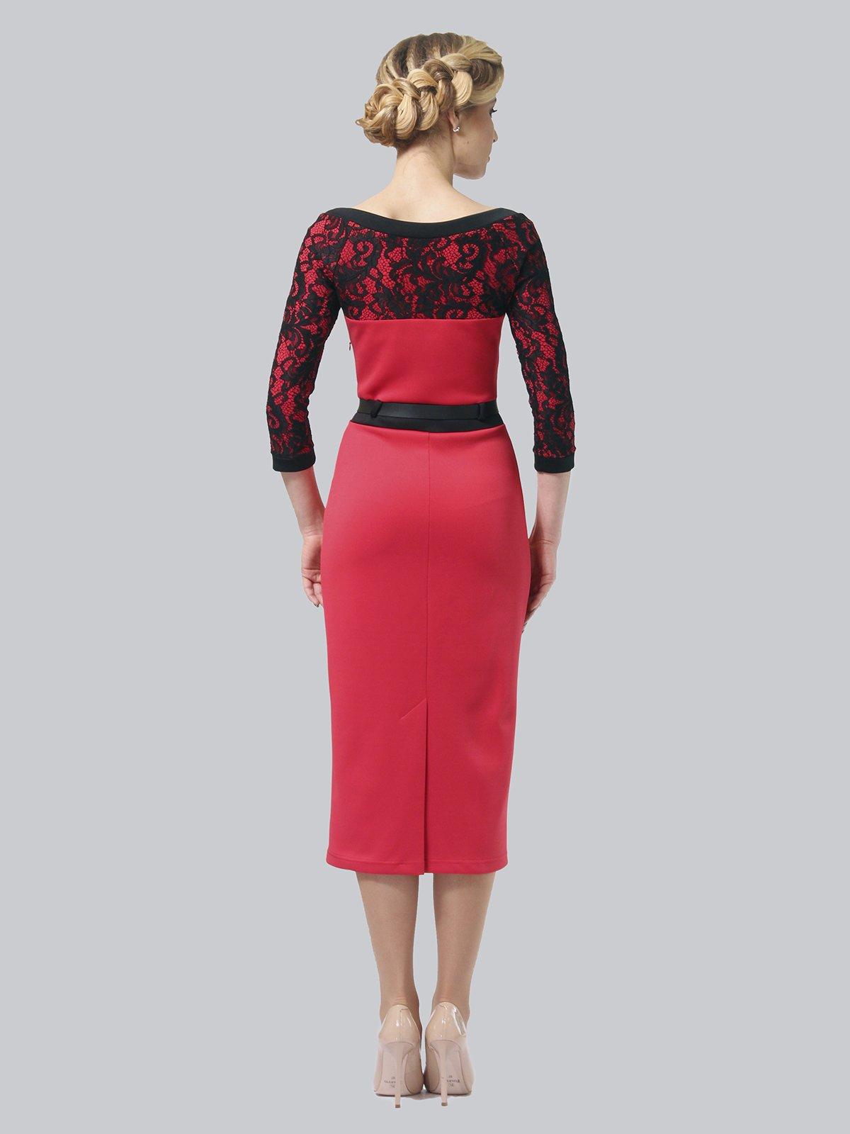 Платье коралловое   3851933   фото 4