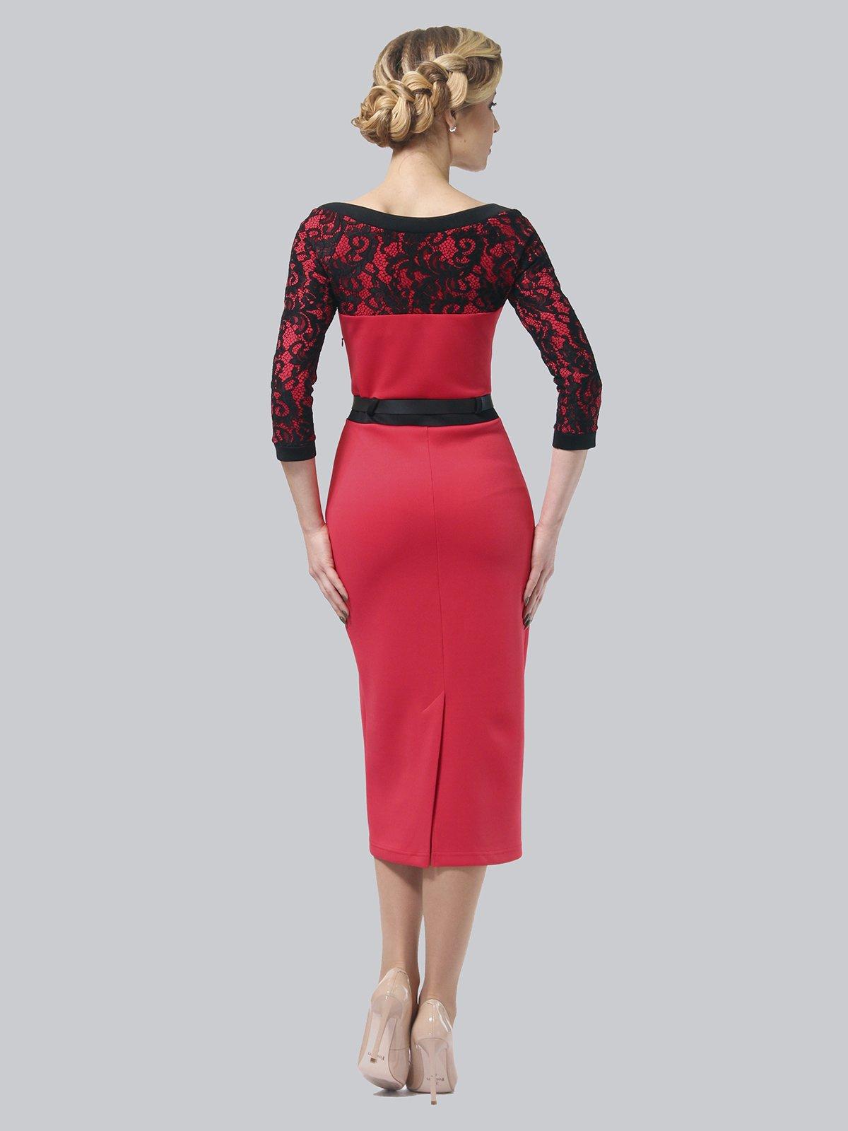 Платье коралловое   3851933   фото 5