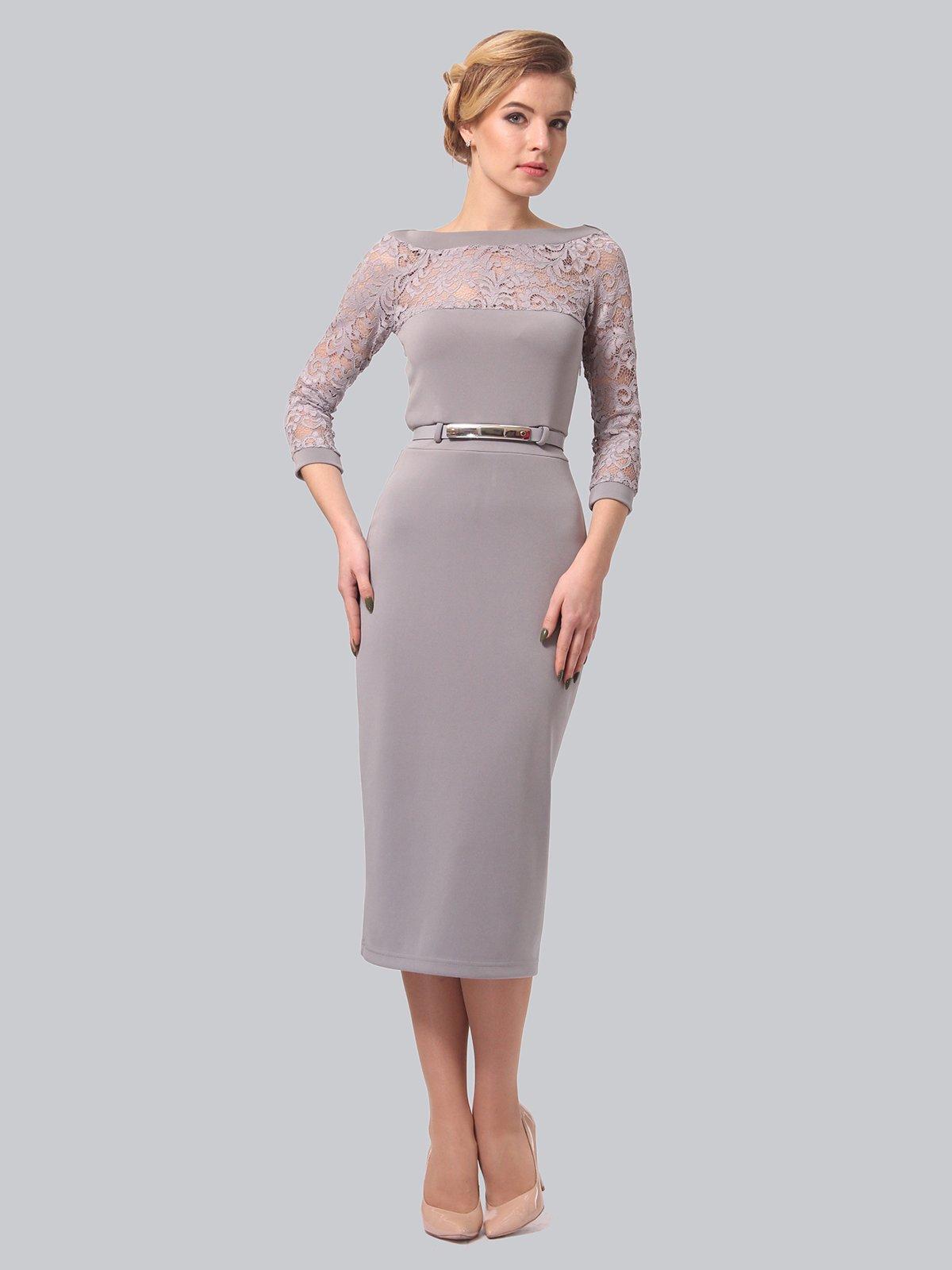 Сукня сіра | 3851934