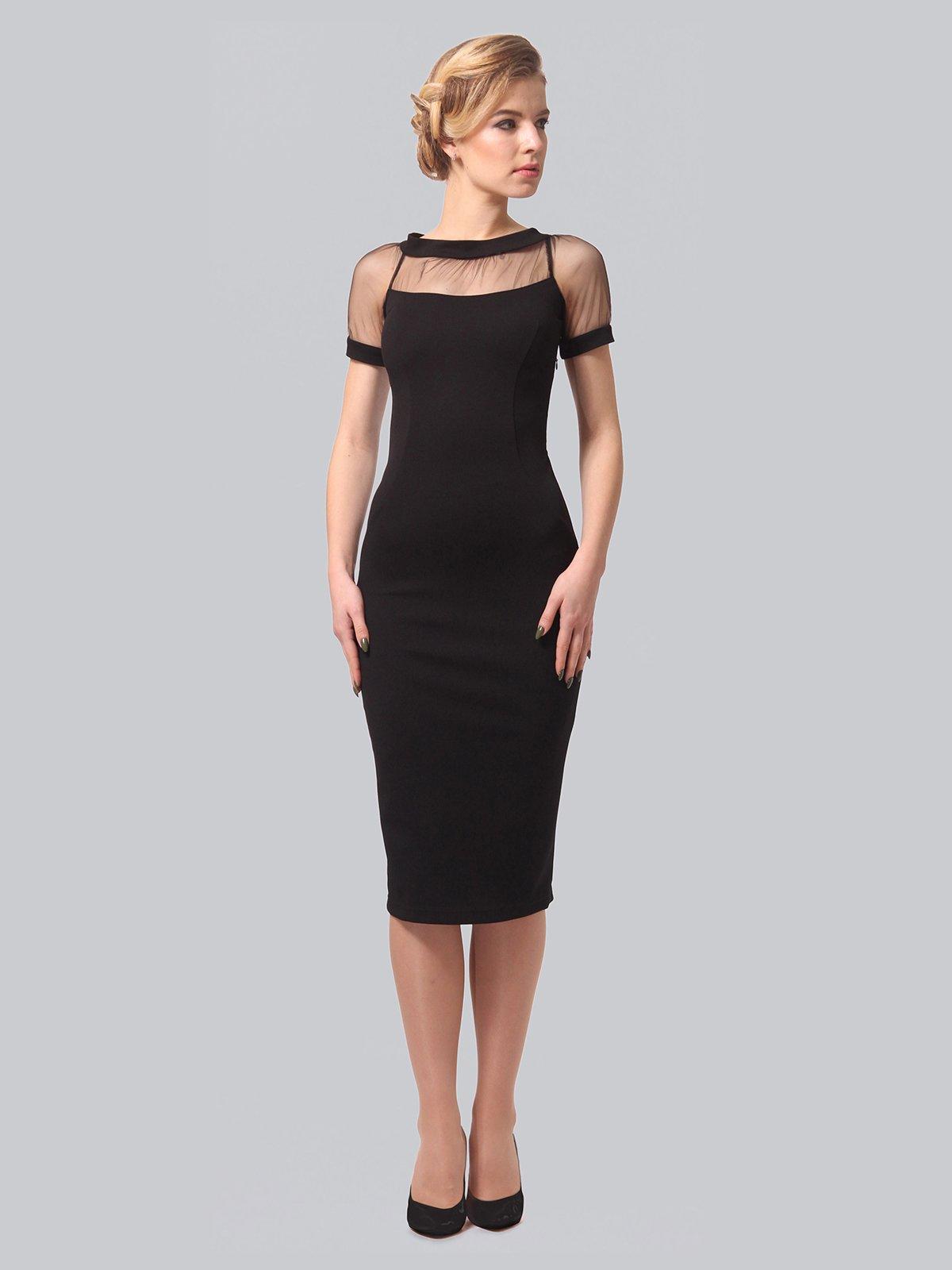 Платье черное | 3851945