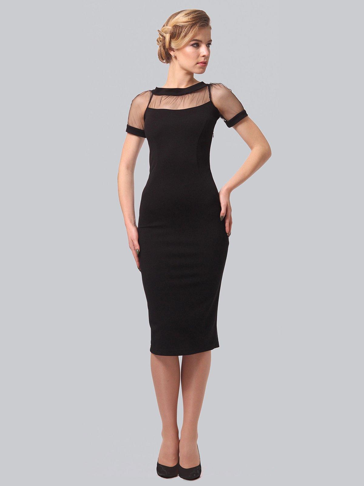 Платье черное | 3851945 | фото 2
