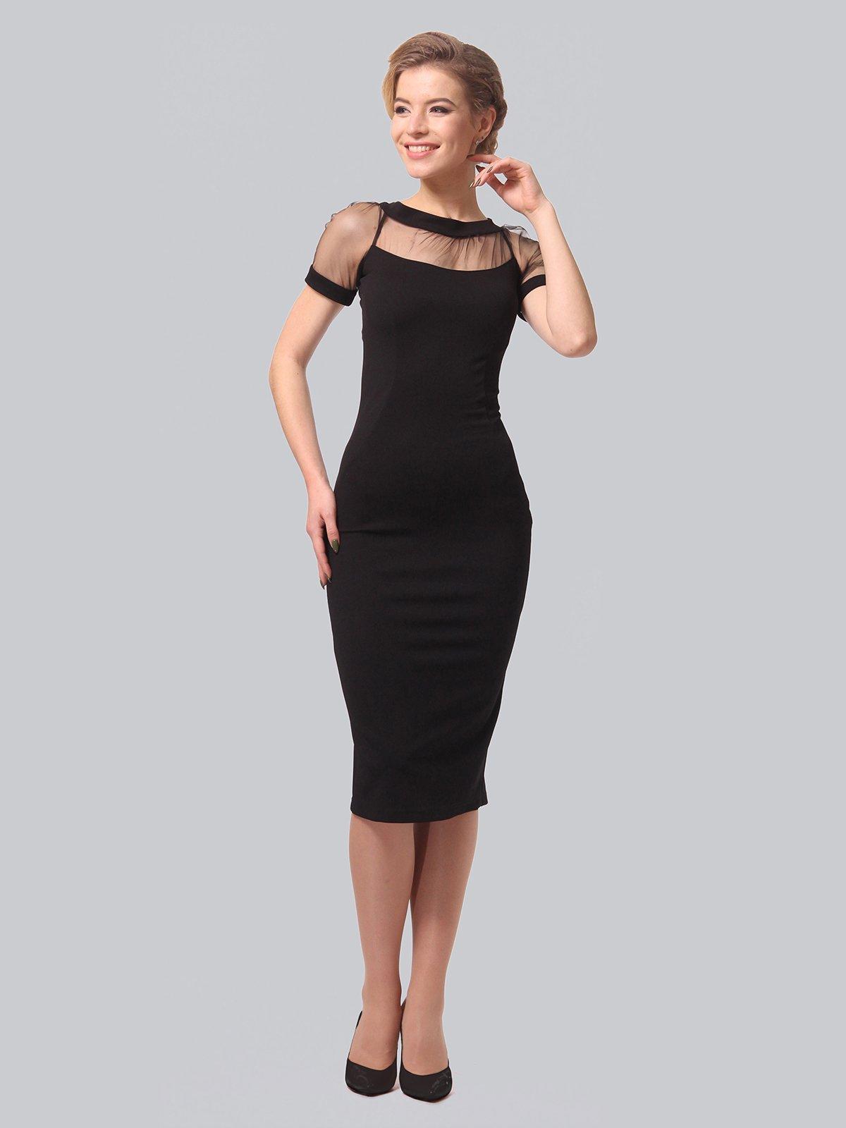 Платье черное | 3851945 | фото 3