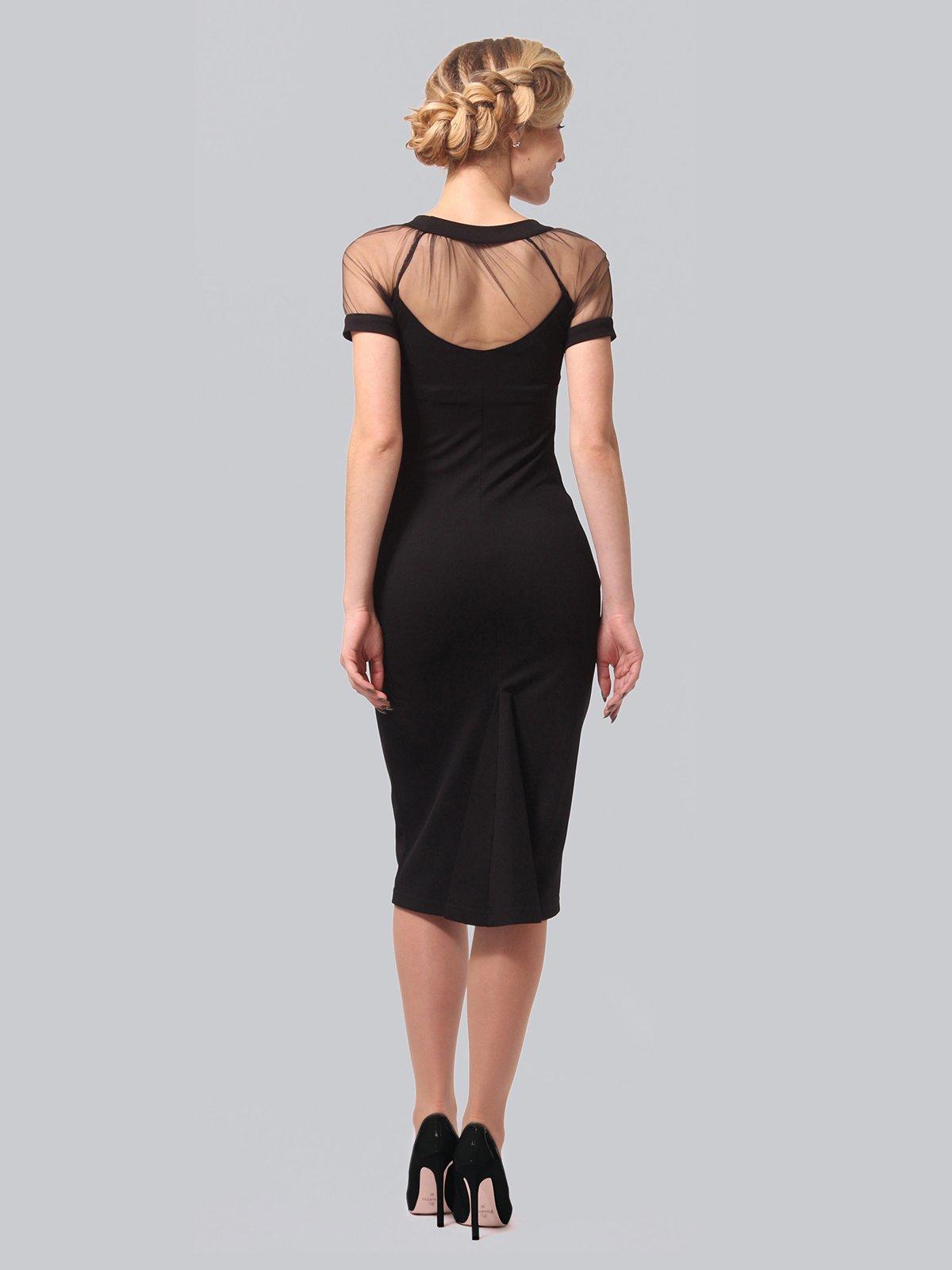 Платье черное | 3851945 | фото 4