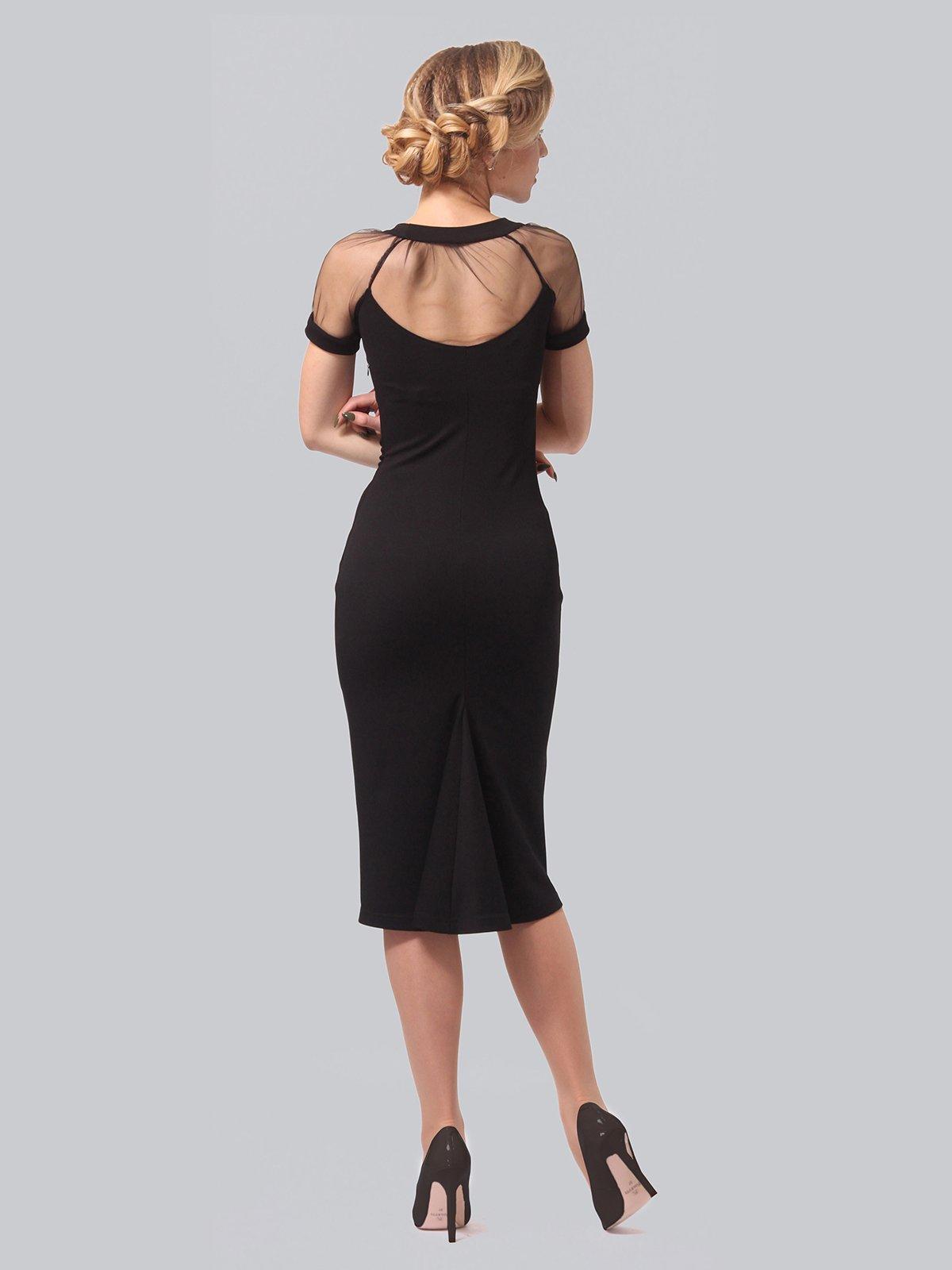 Платье черное | 3851945 | фото 5