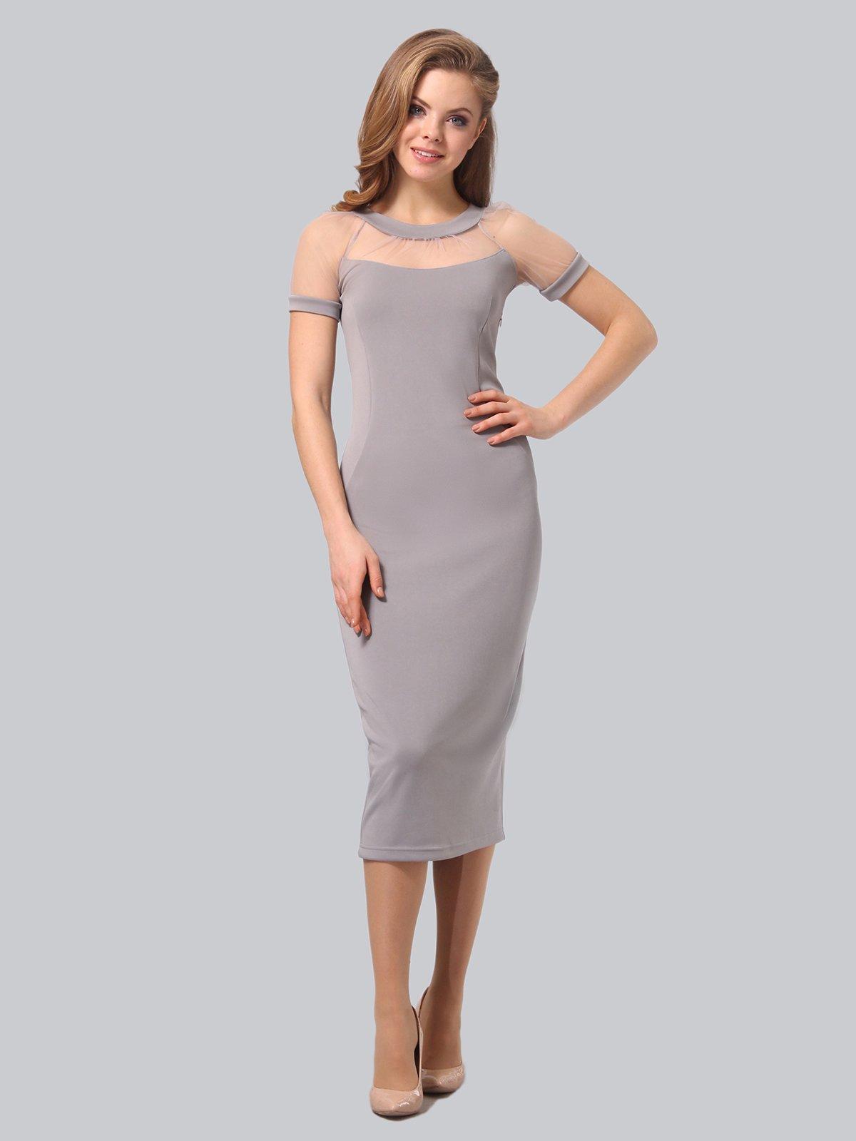 Платье серое   3851947   фото 2