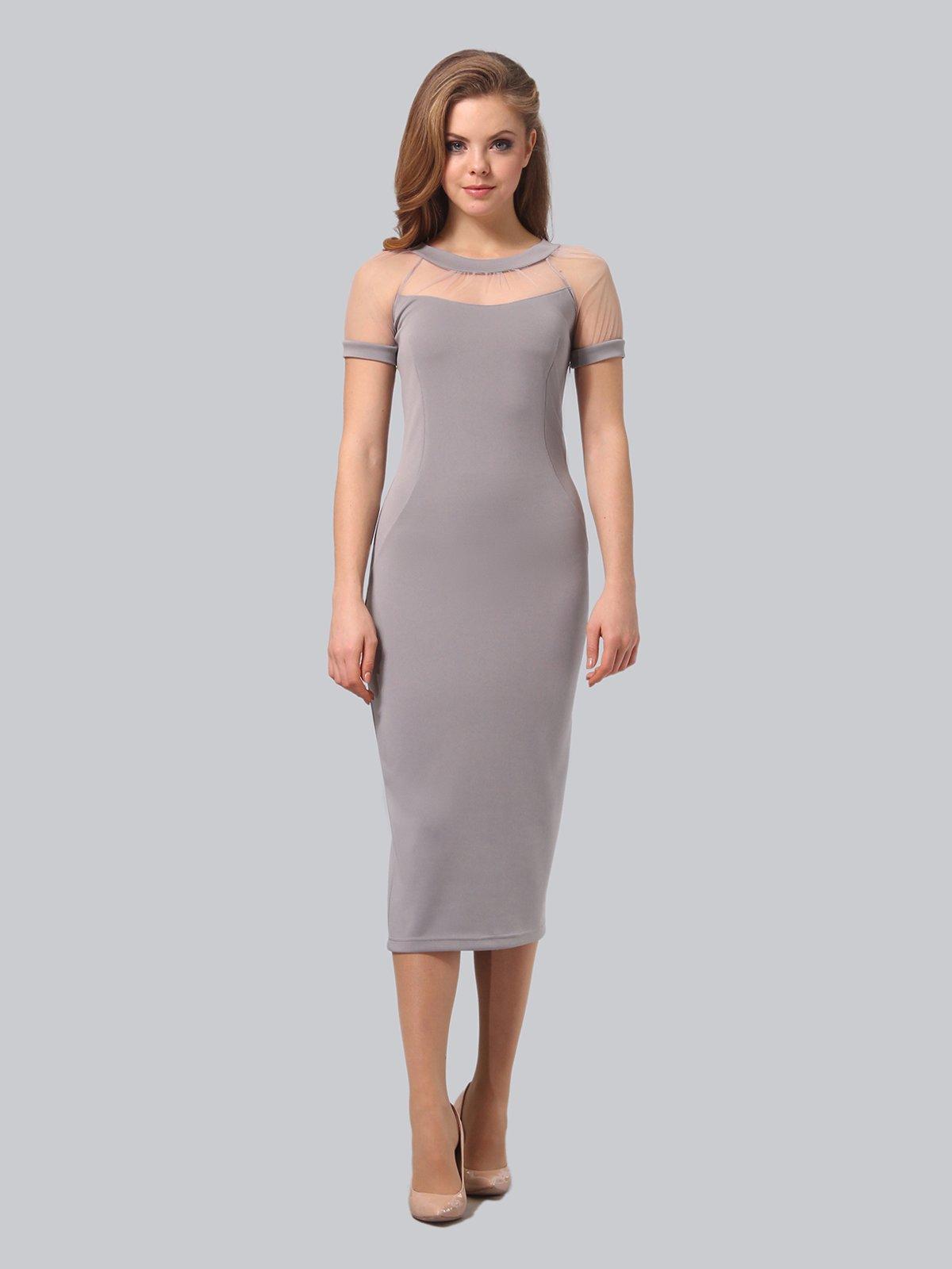 Платье серое   3851947   фото 3