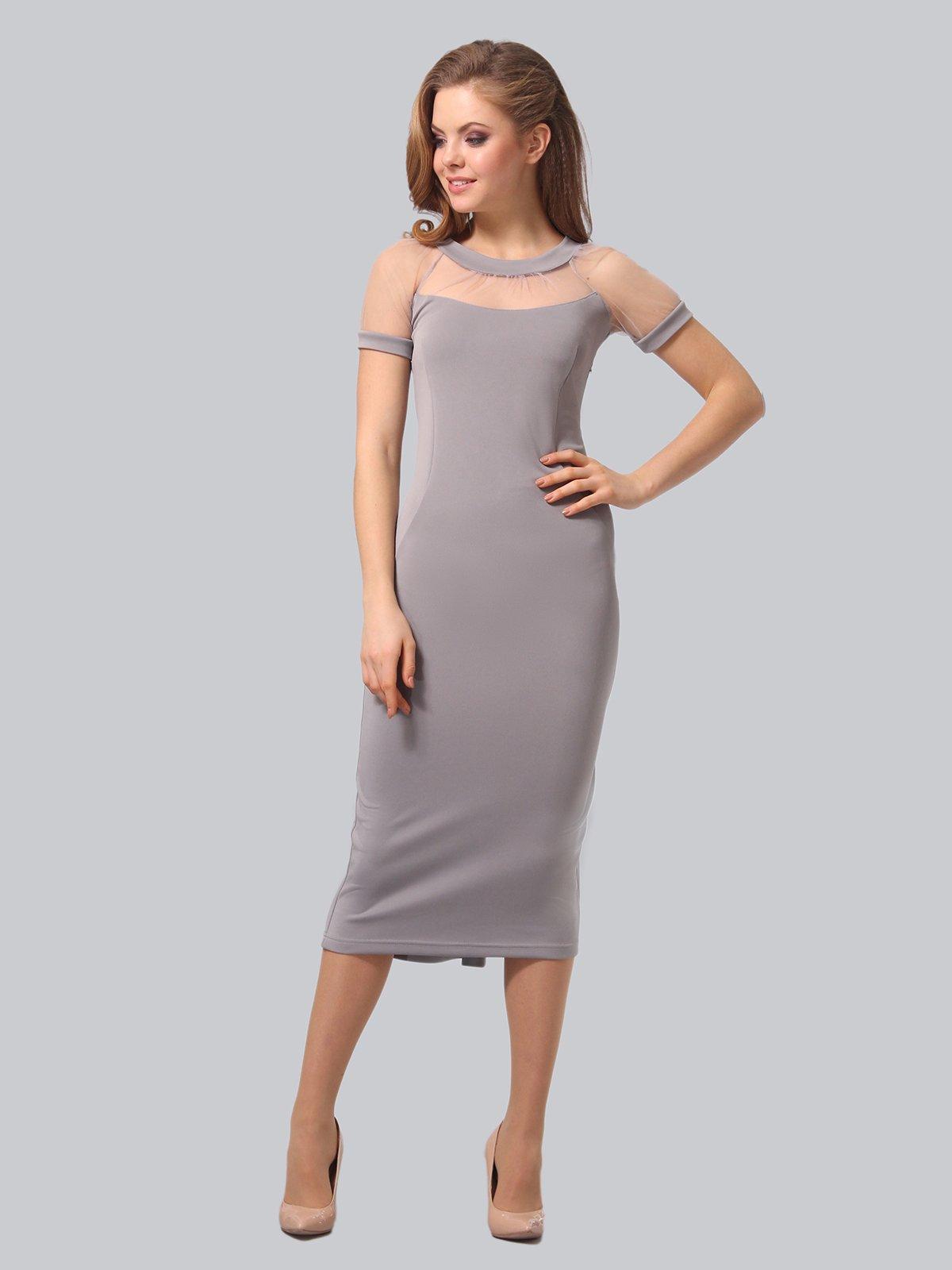 Платье серое   3851947   фото 4