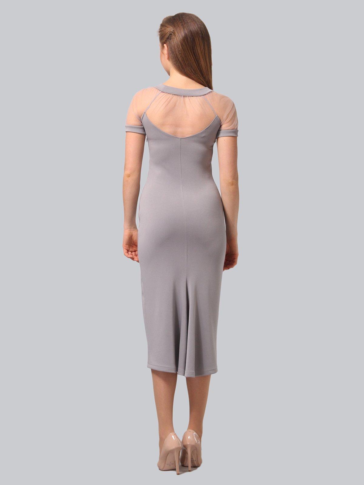 Платье серое   3851947   фото 5