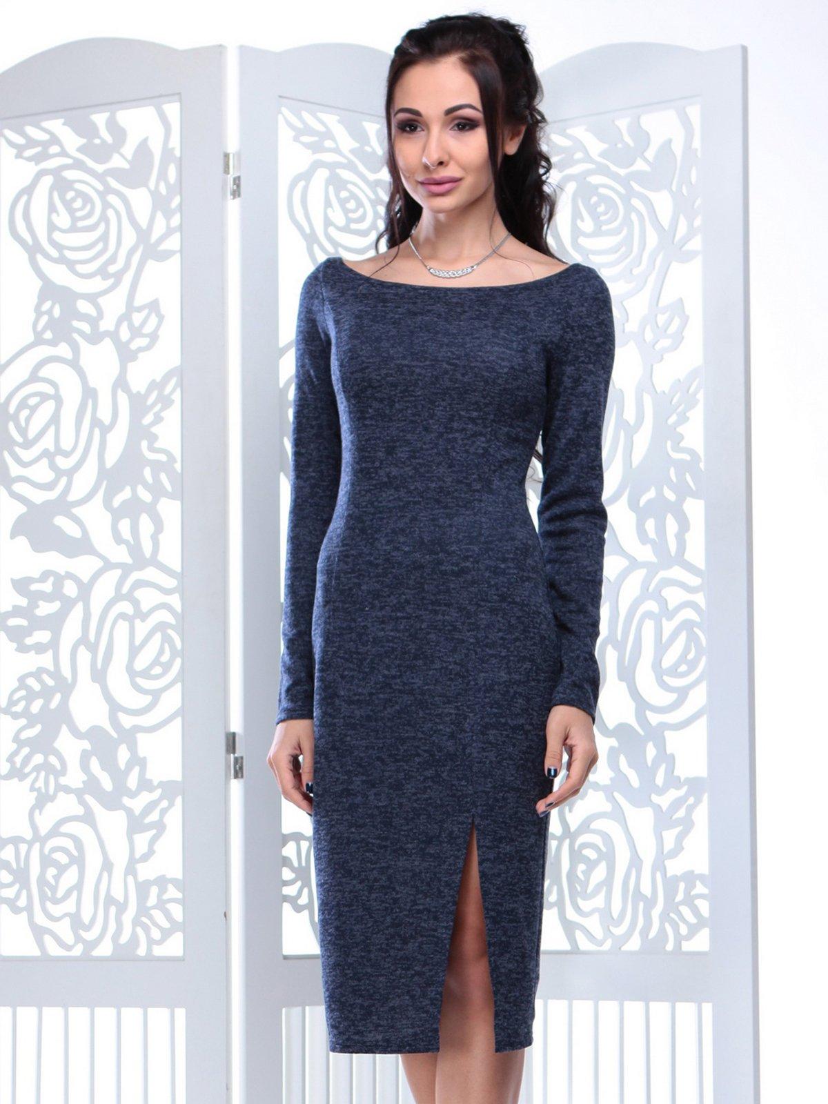 Платье темно-синее   3858510