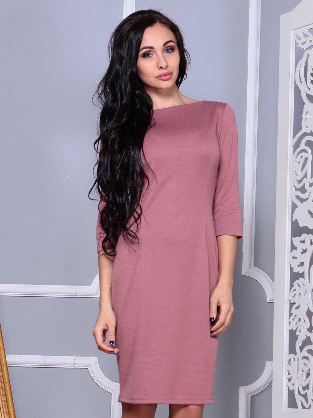 Платье цвета розовой дымки   3858516