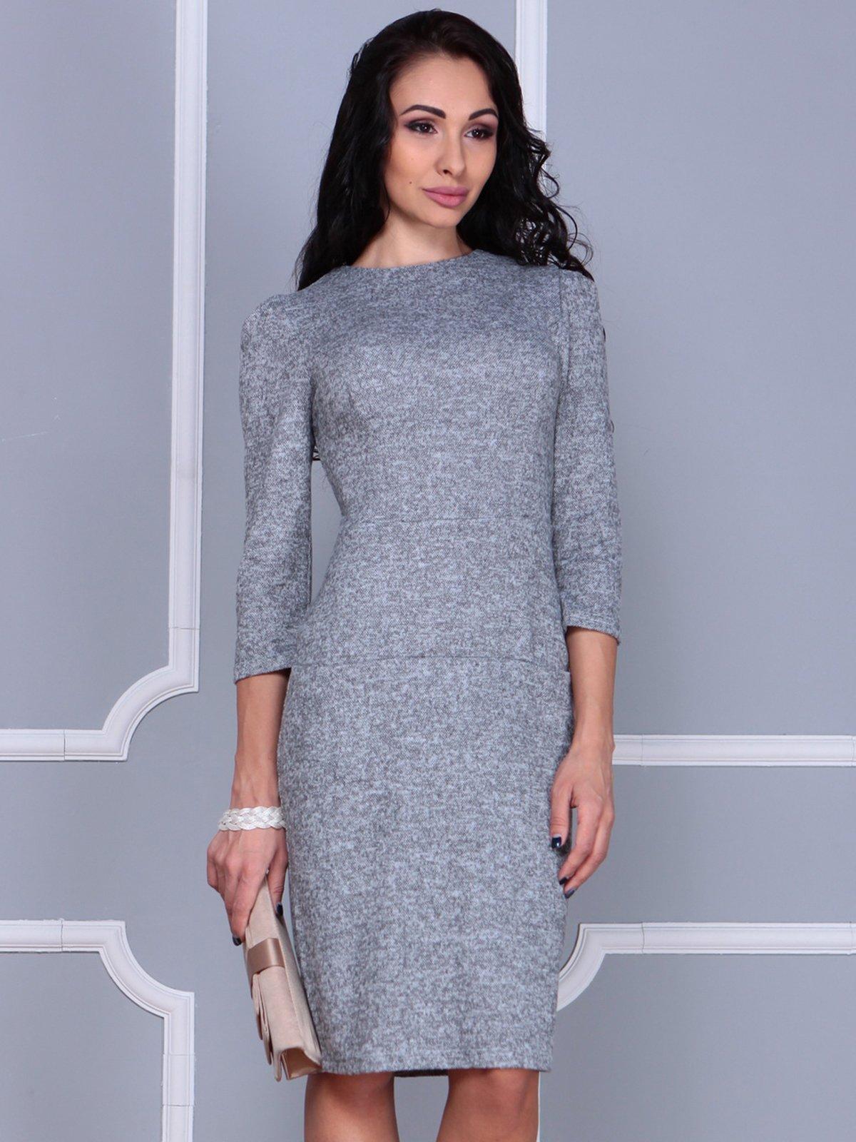 Платье серое | 3858517