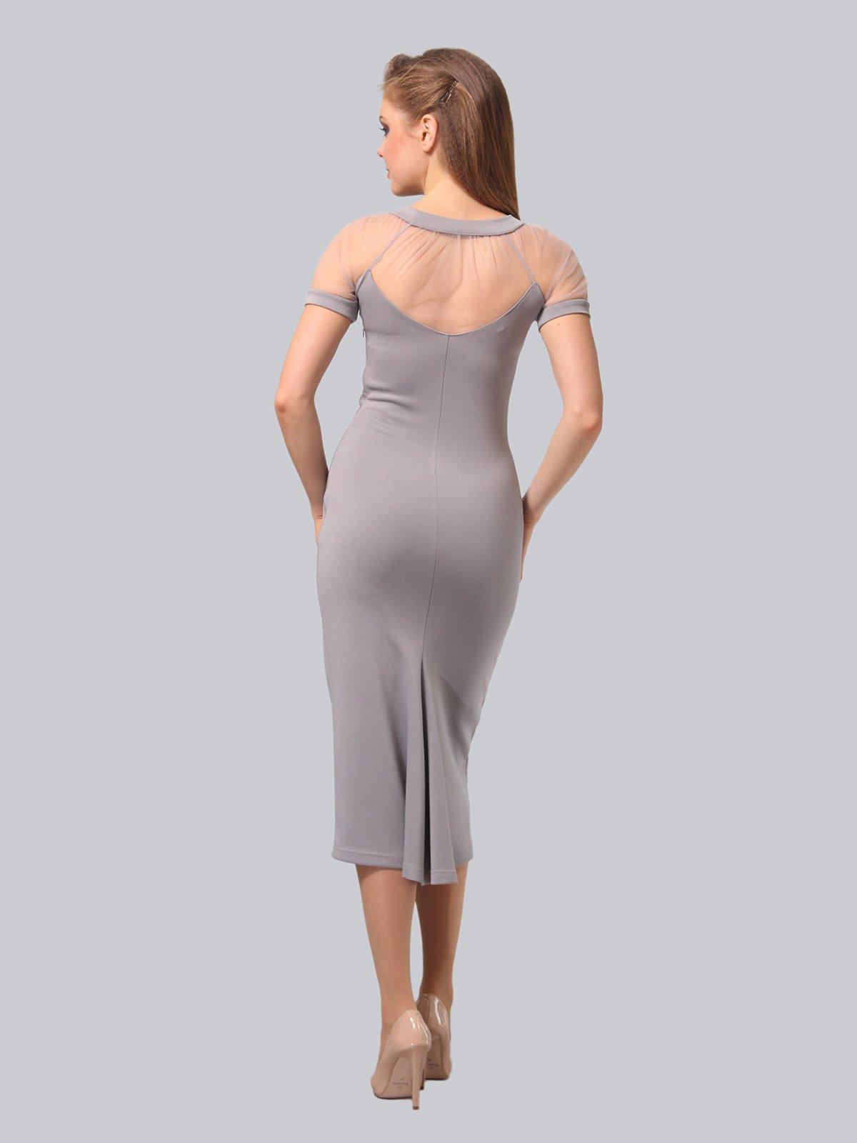 Платье серое   3851947   фото 6