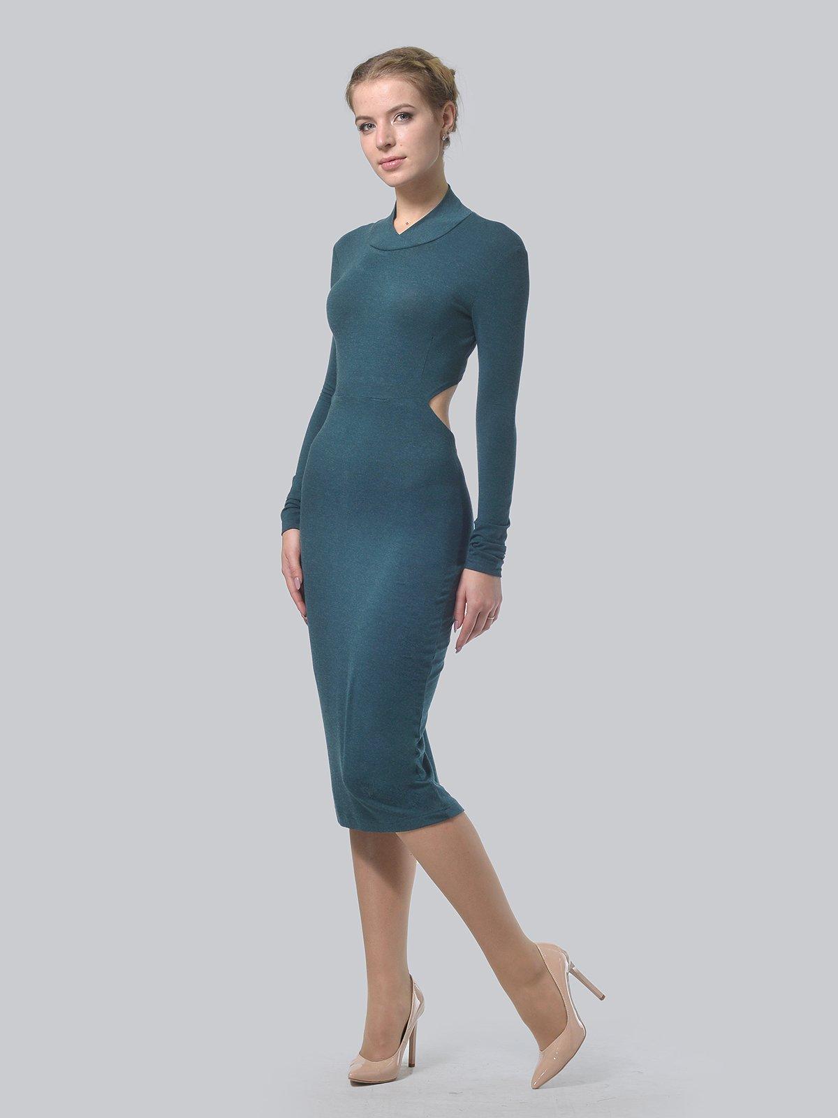 Платье темно-зеленое   3692902