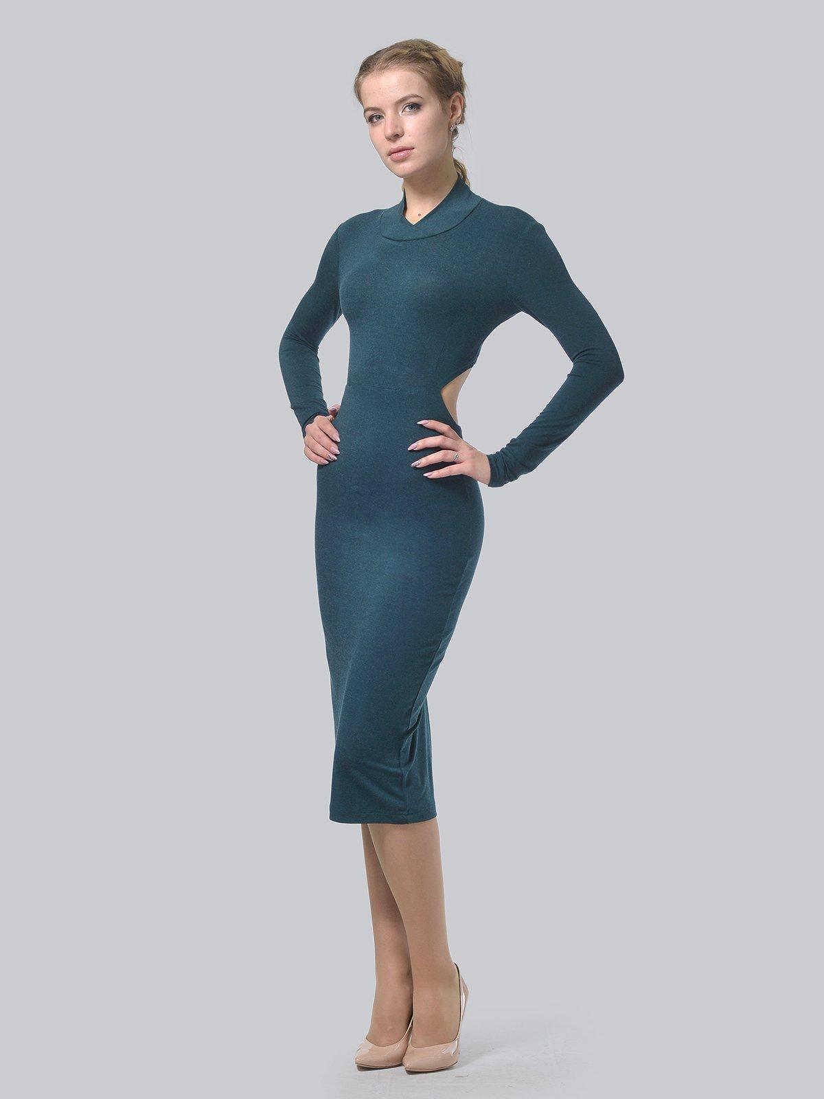 Платье темно-зеленое   3692902   фото 3