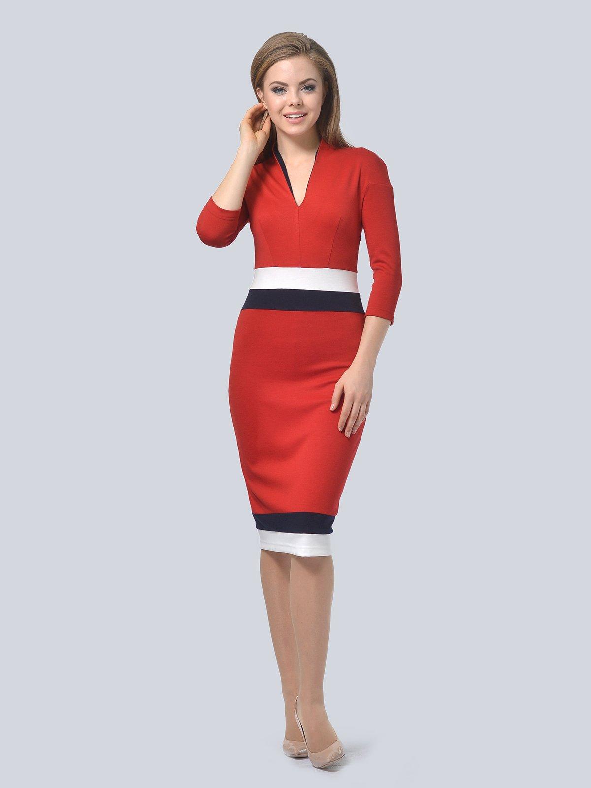 Платье красное | 3794601