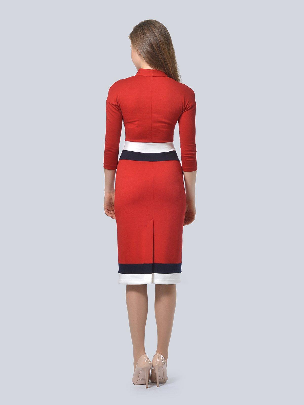 Платье красное | 3794601 | фото 3