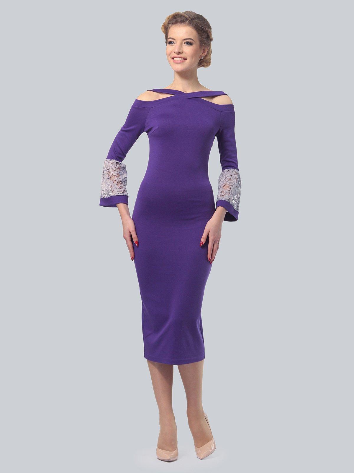 Сукня фіолетова | 3828062