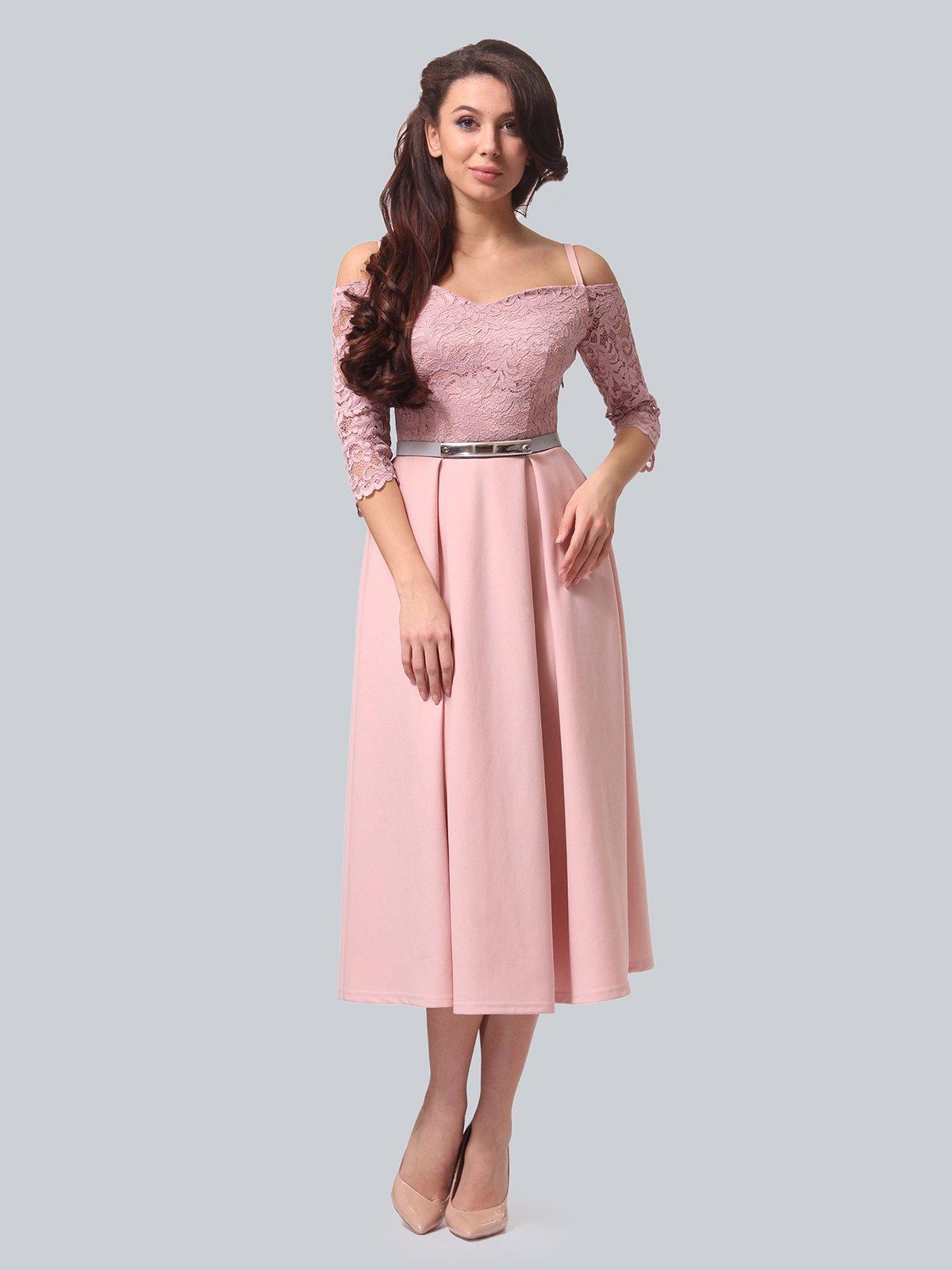 Платье розовое | 3851910 | фото 2