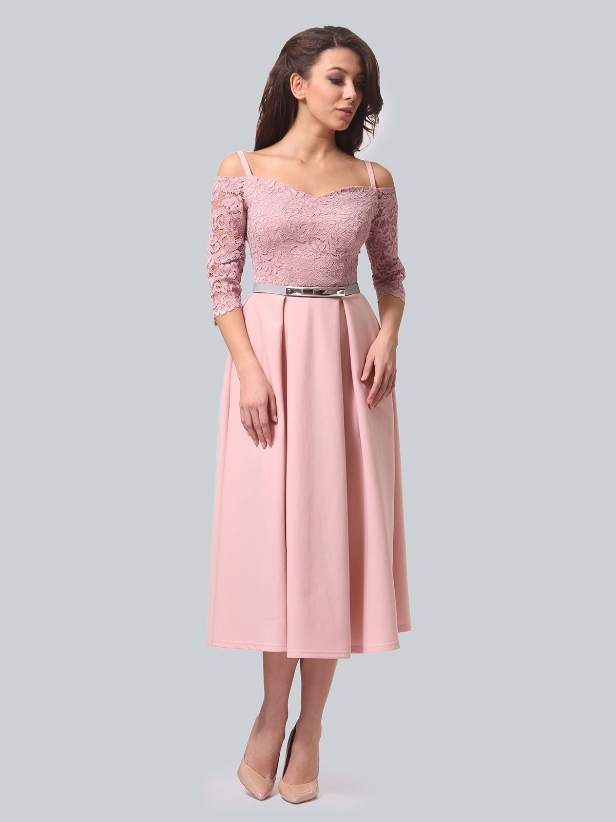 Платье розовое | 3851910 | фото 3