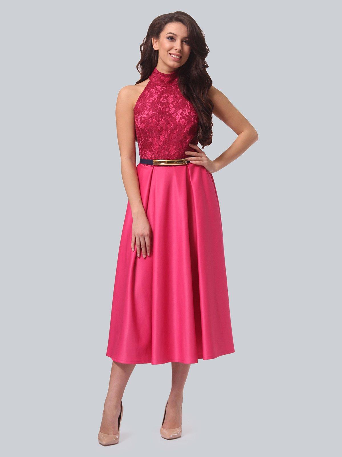 Платье цвета фуксии   3851911