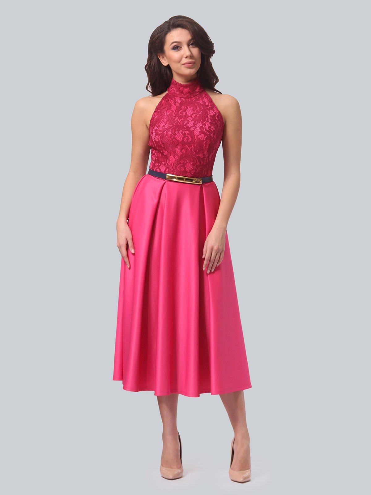 Платье цвета фуксии   3851911   фото 2