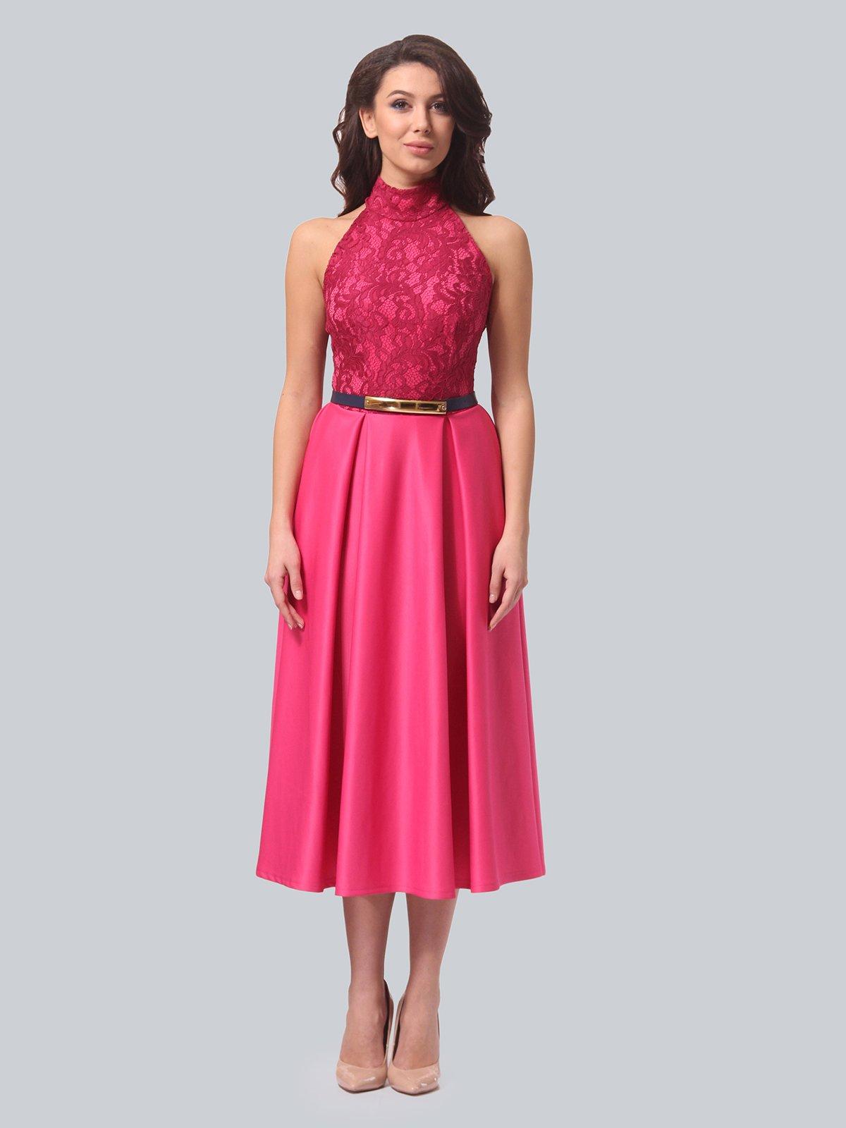 Платье цвета фуксии   3851911   фото 3