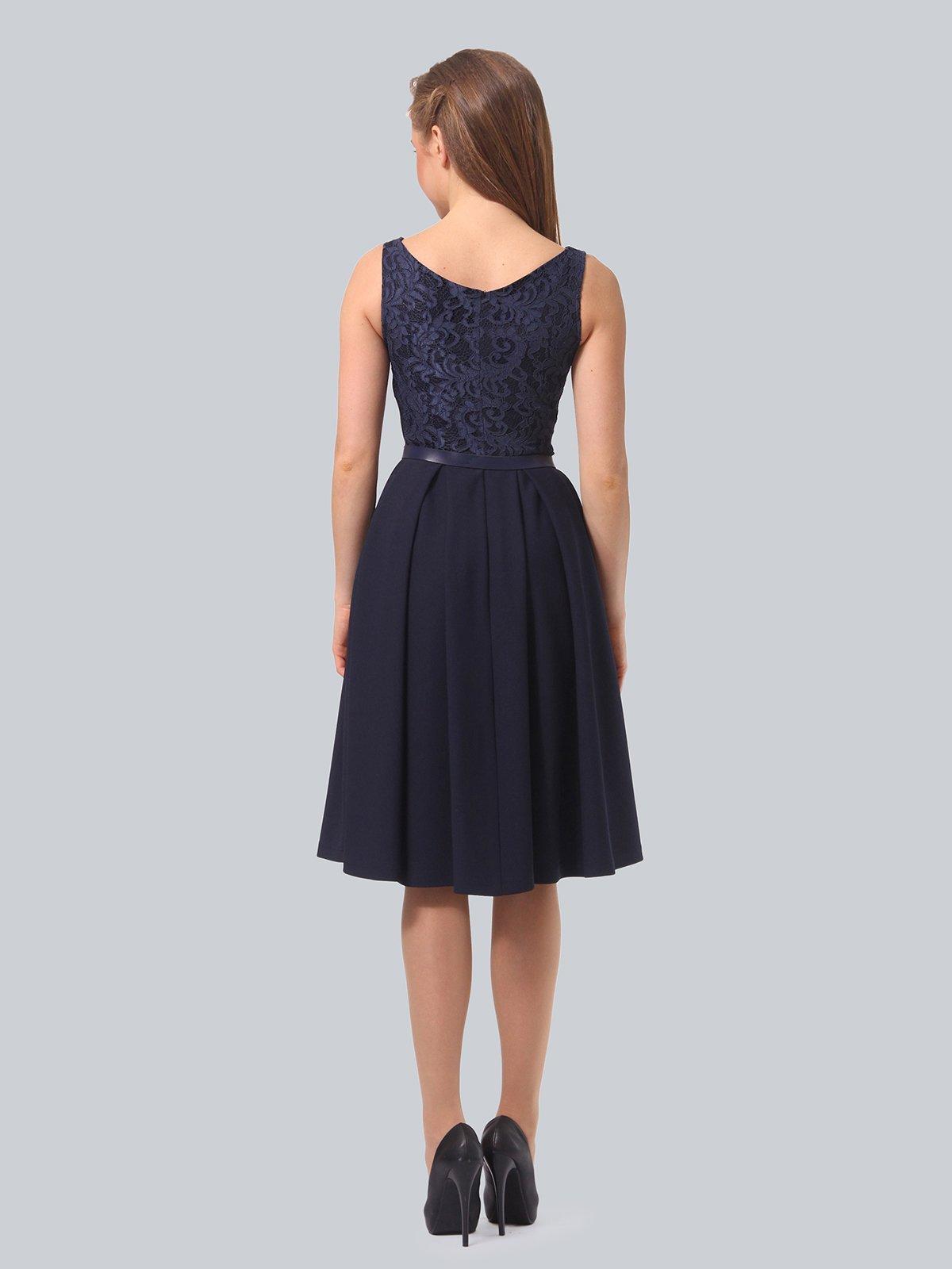 Платье темно-синее | 3863266 | фото 3
