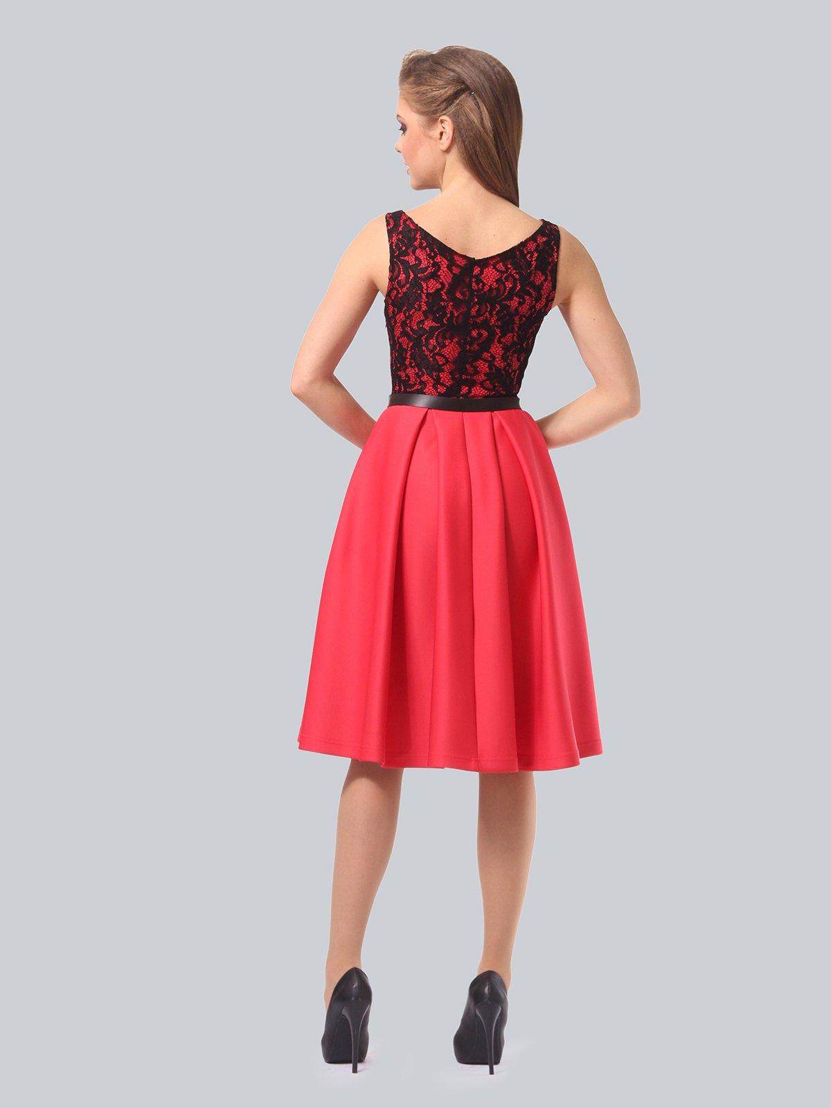 Платье кораллово-черное   3863268   фото 8