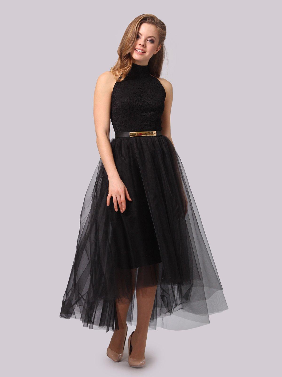 Платье черное | 3863278 | фото 2