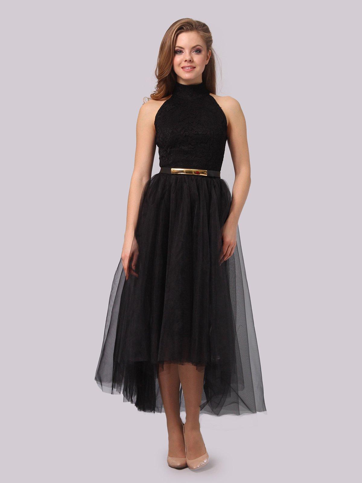 Платье черное | 3863278 | фото 3