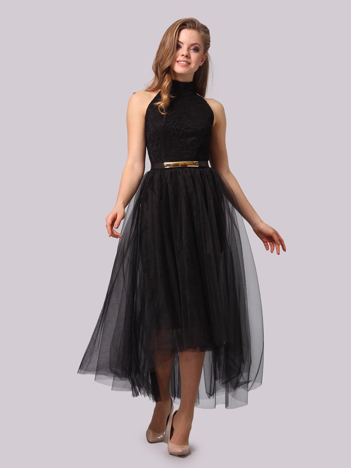 Платье черное | 3863278 | фото 4