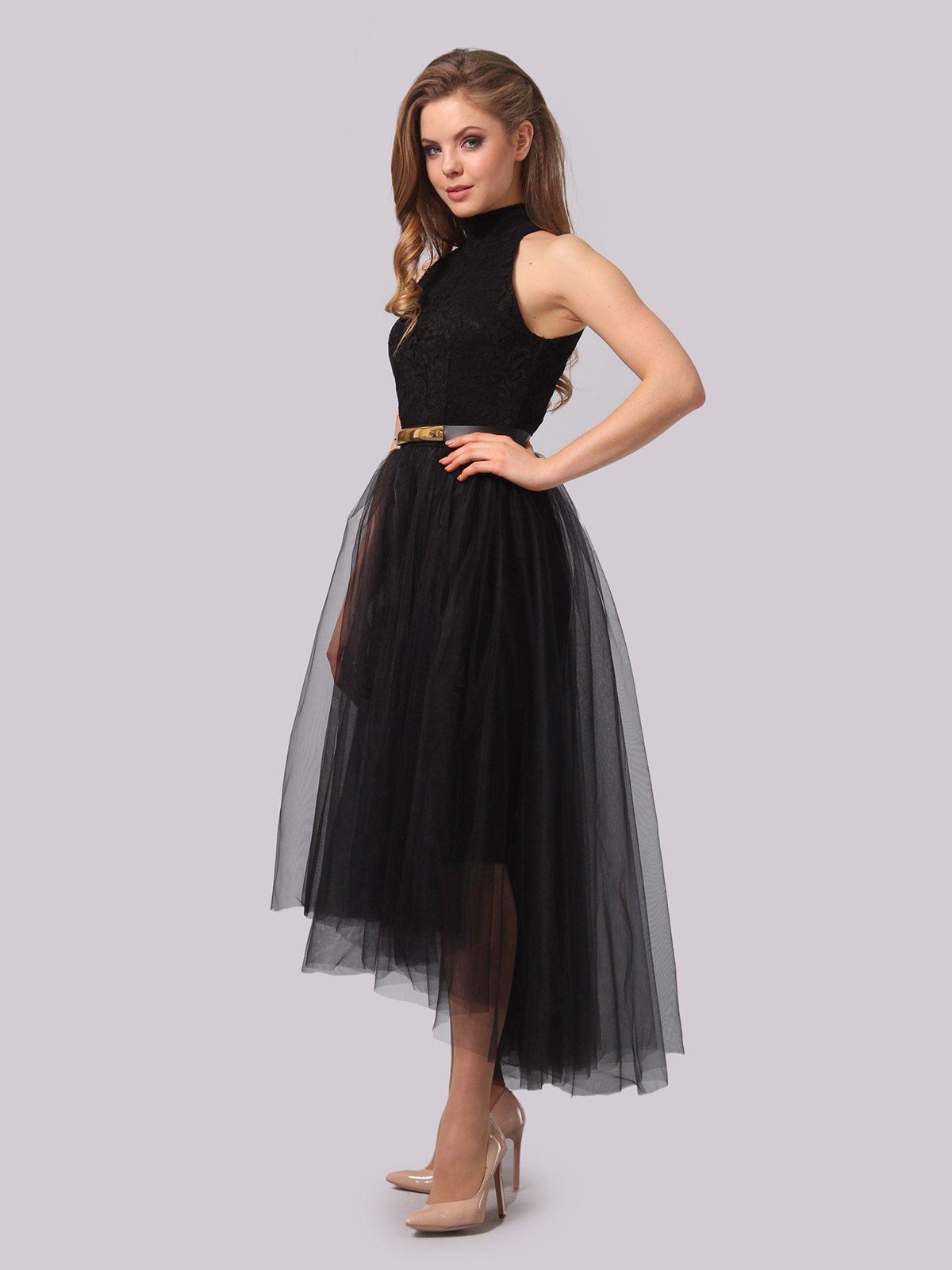 Платье черное | 3863278 | фото 5
