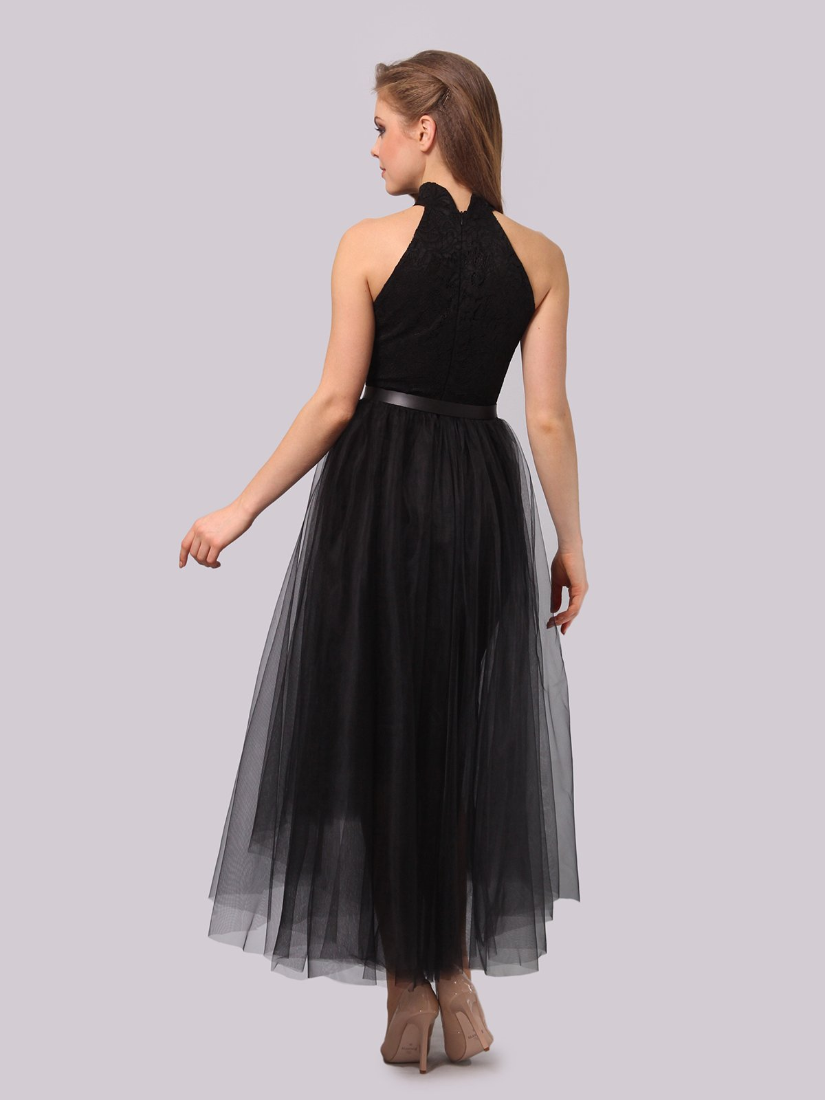 Платье черное | 3863278 | фото 6