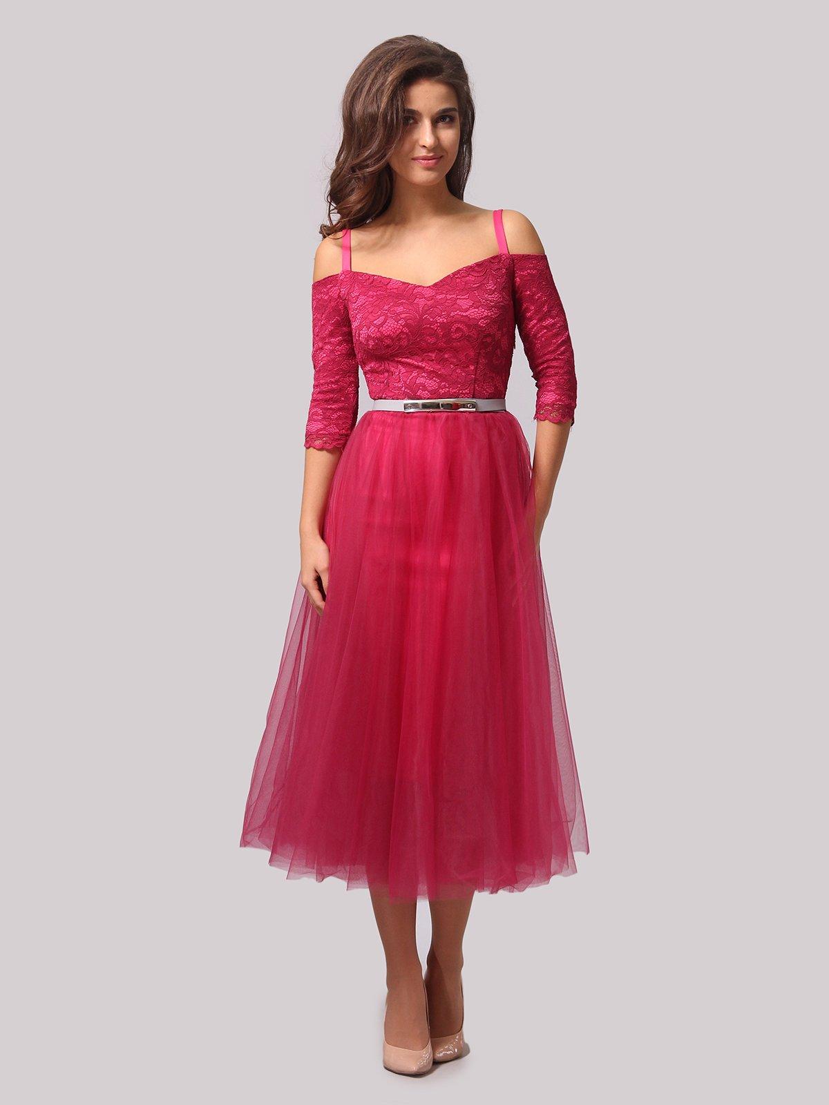 Платье цвета фуксии   3863287
