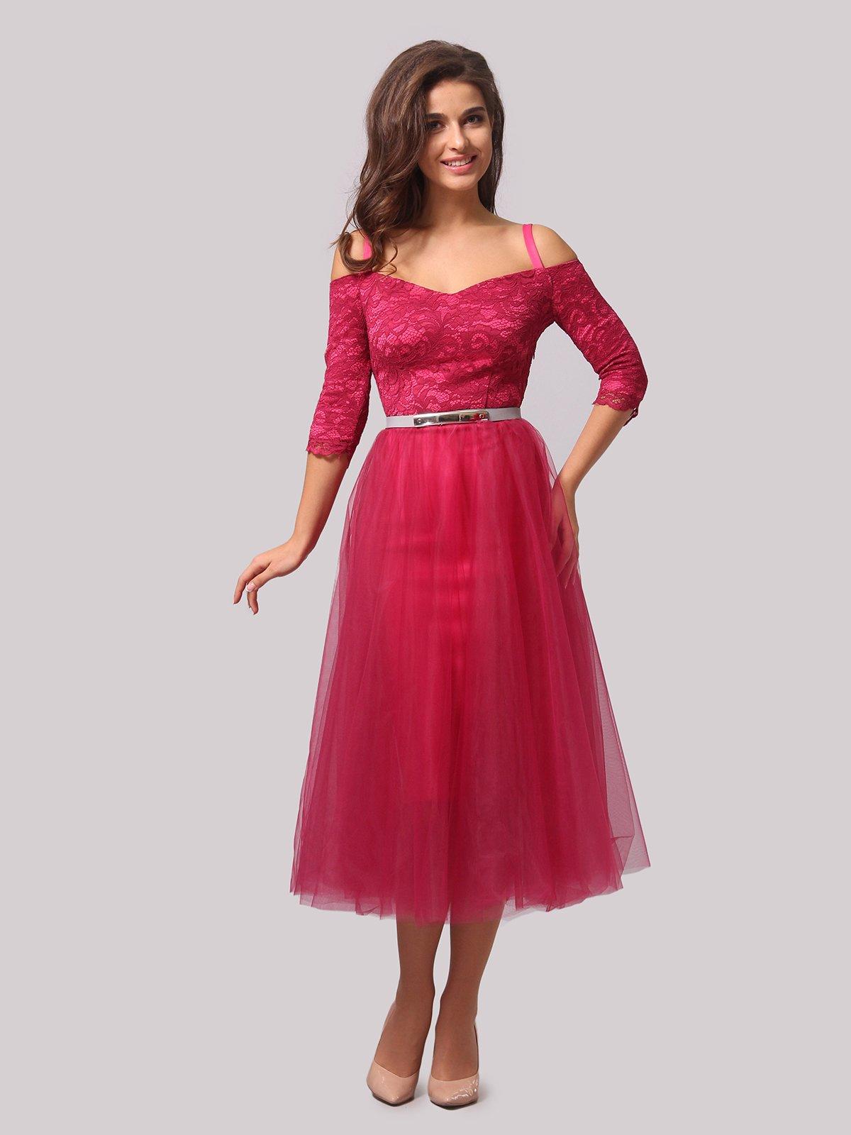 Платье цвета фуксии   3863287   фото 2