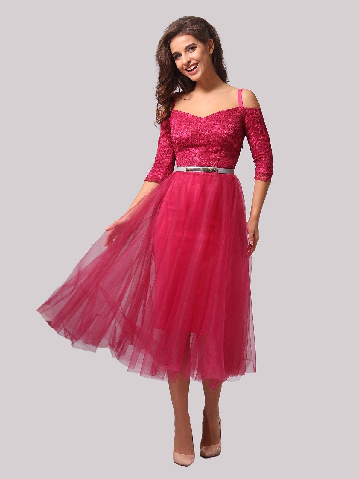 Платье цвета фуксии   3863287   фото 3