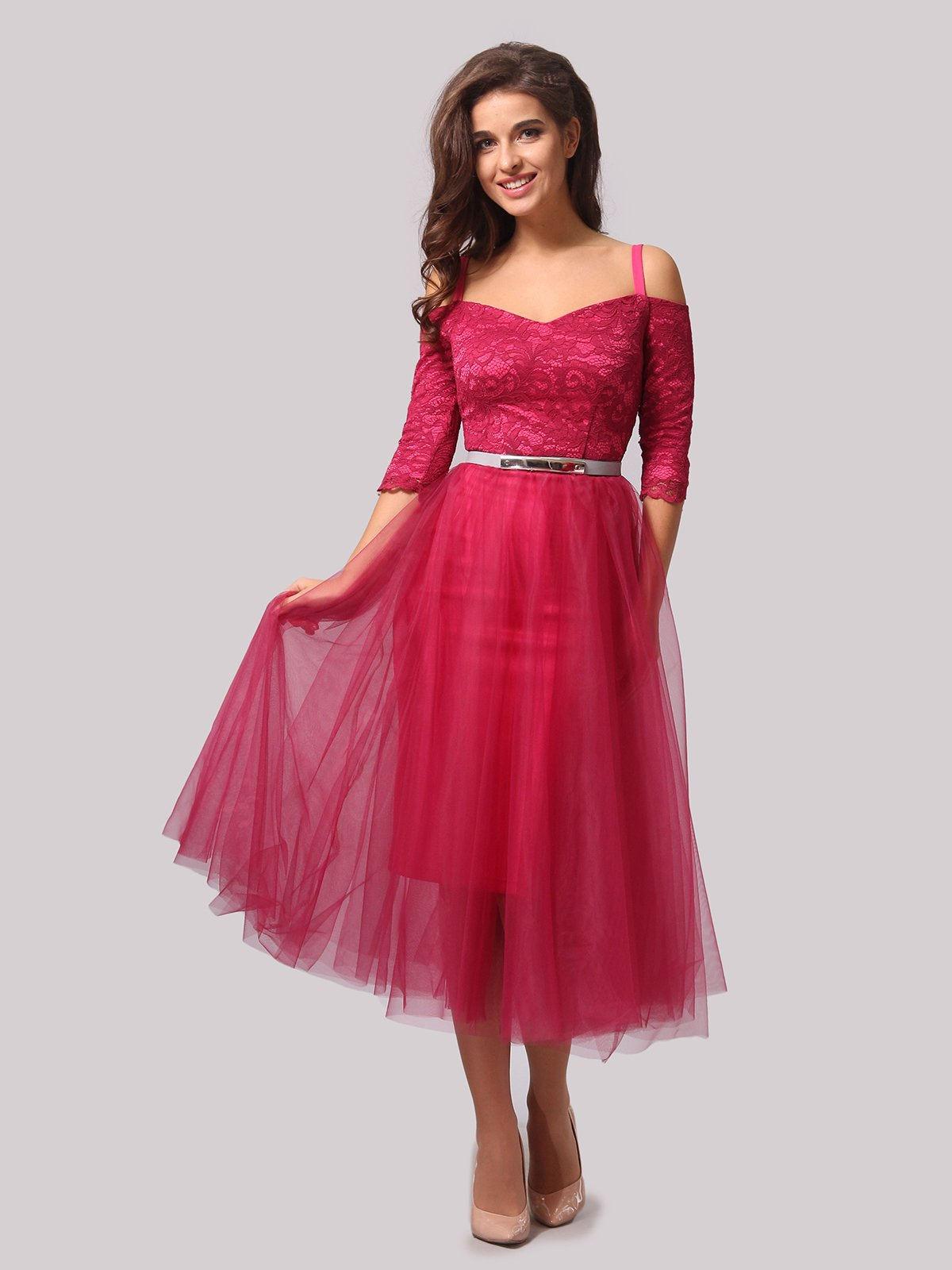 Платье цвета фуксии   3863287   фото 4