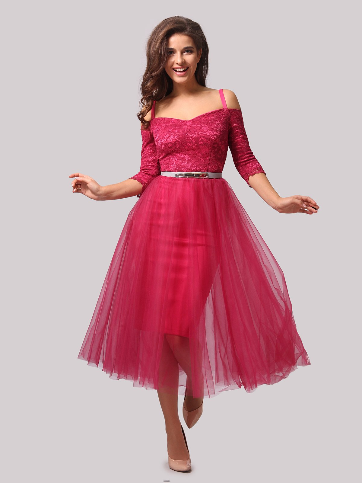 Платье цвета фуксии   3863287   фото 5