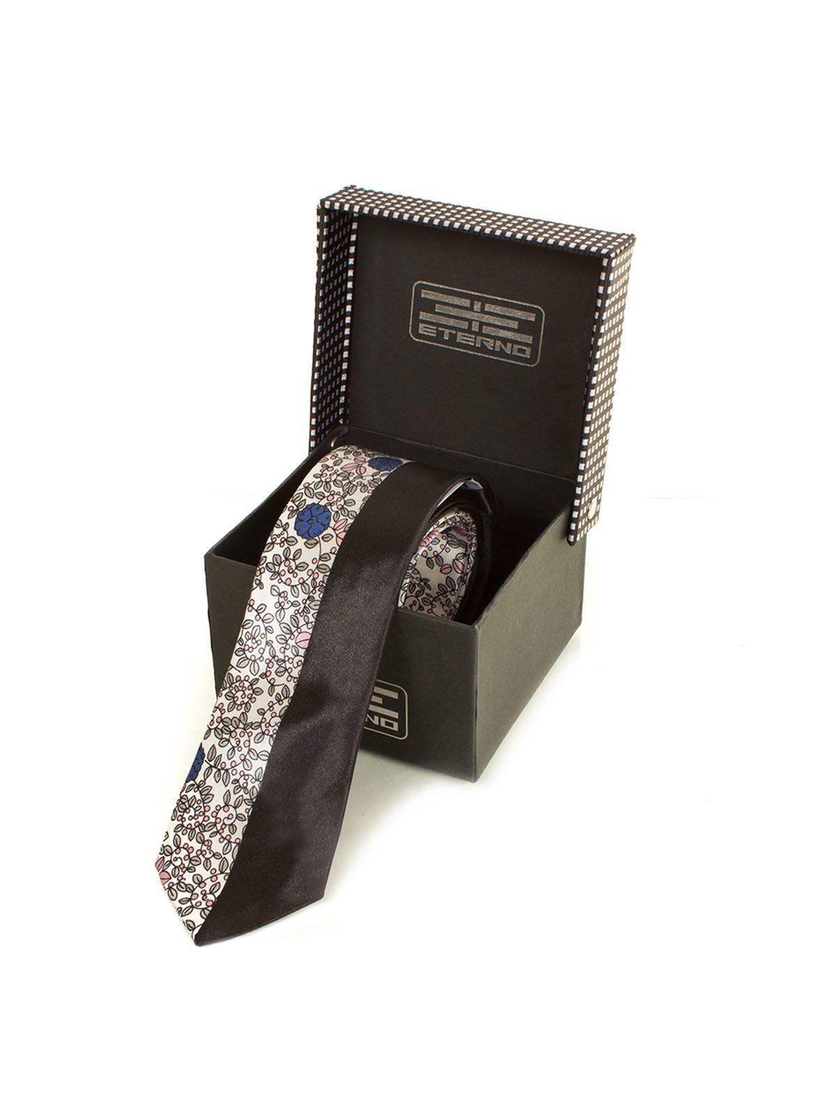 Краватка в квітковий принт | 3866484